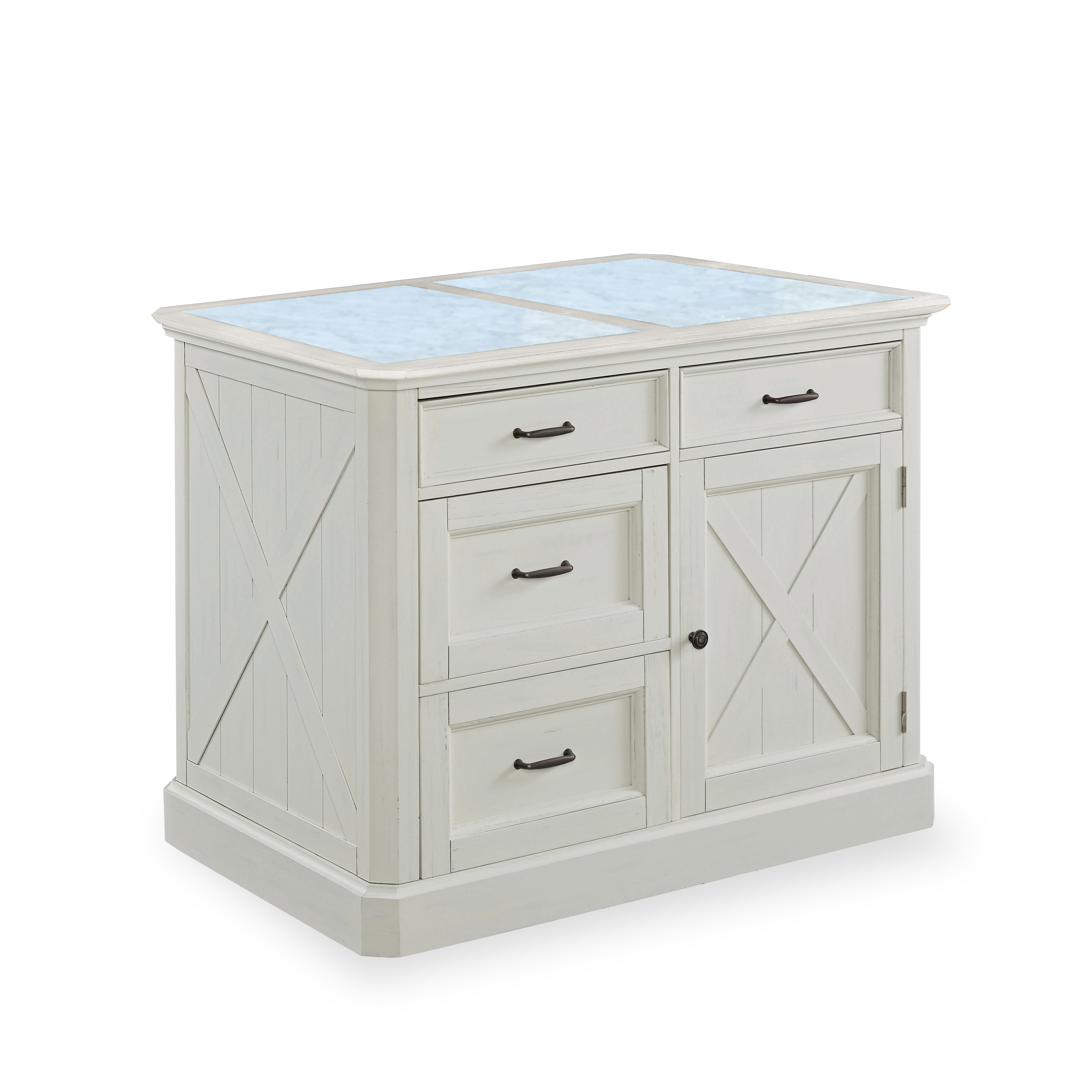 Bay Lodge Kitchen Island by homestyles at Value City Furniture