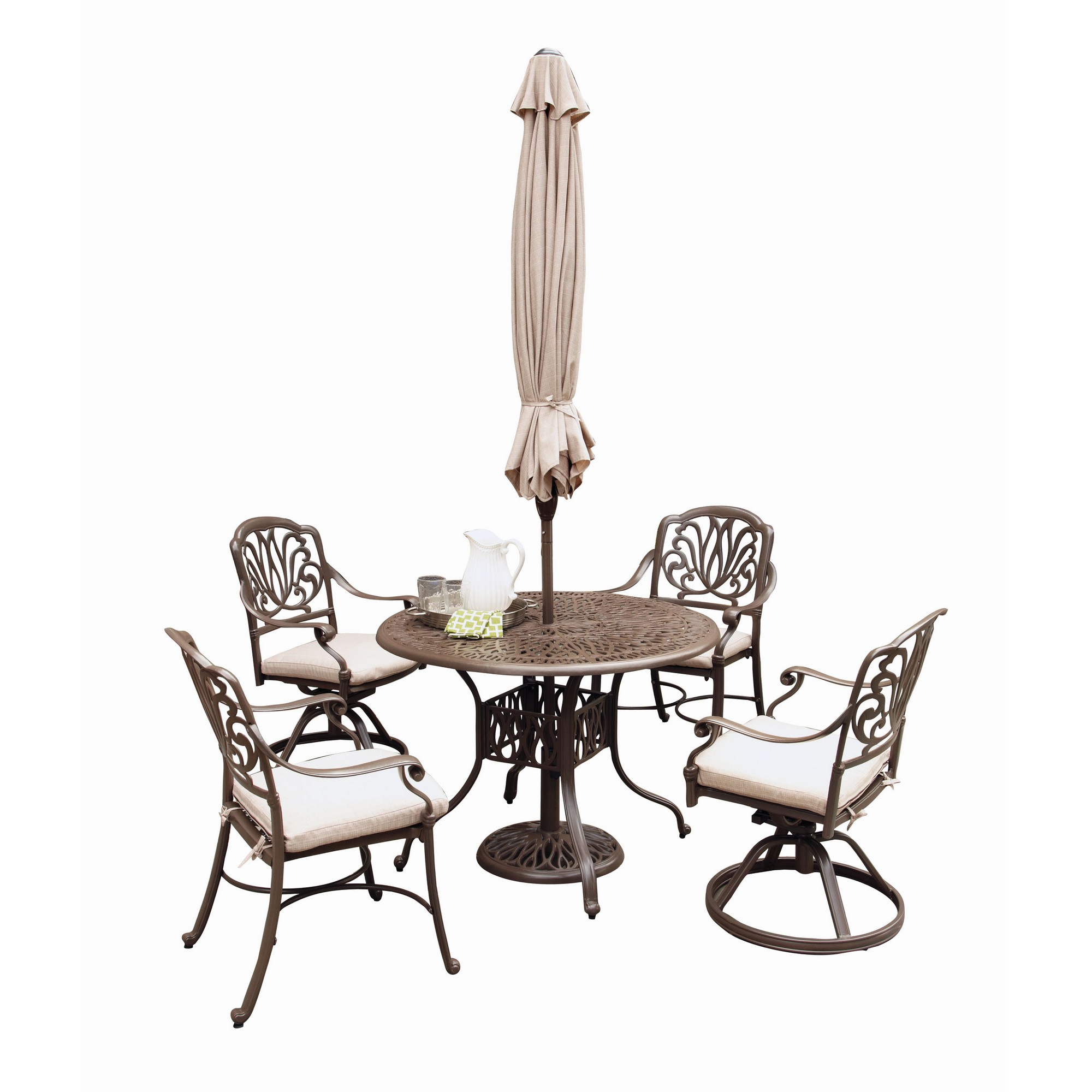 Capri 6-Piece Outdoor Dining Set by homestyles at Value City Furniture
