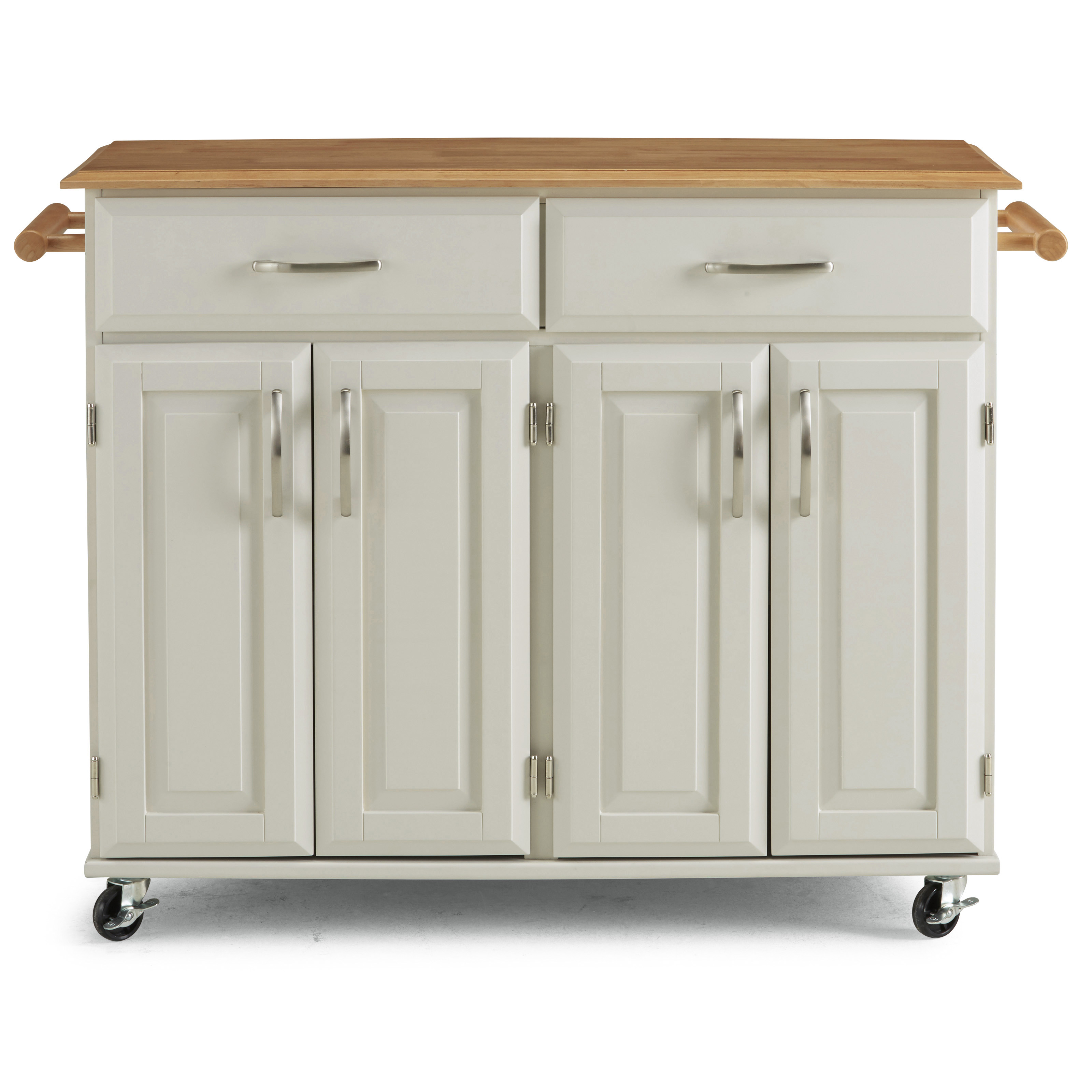 Blanche Kitchen Cart by homestyles at Godby Home Furnishings