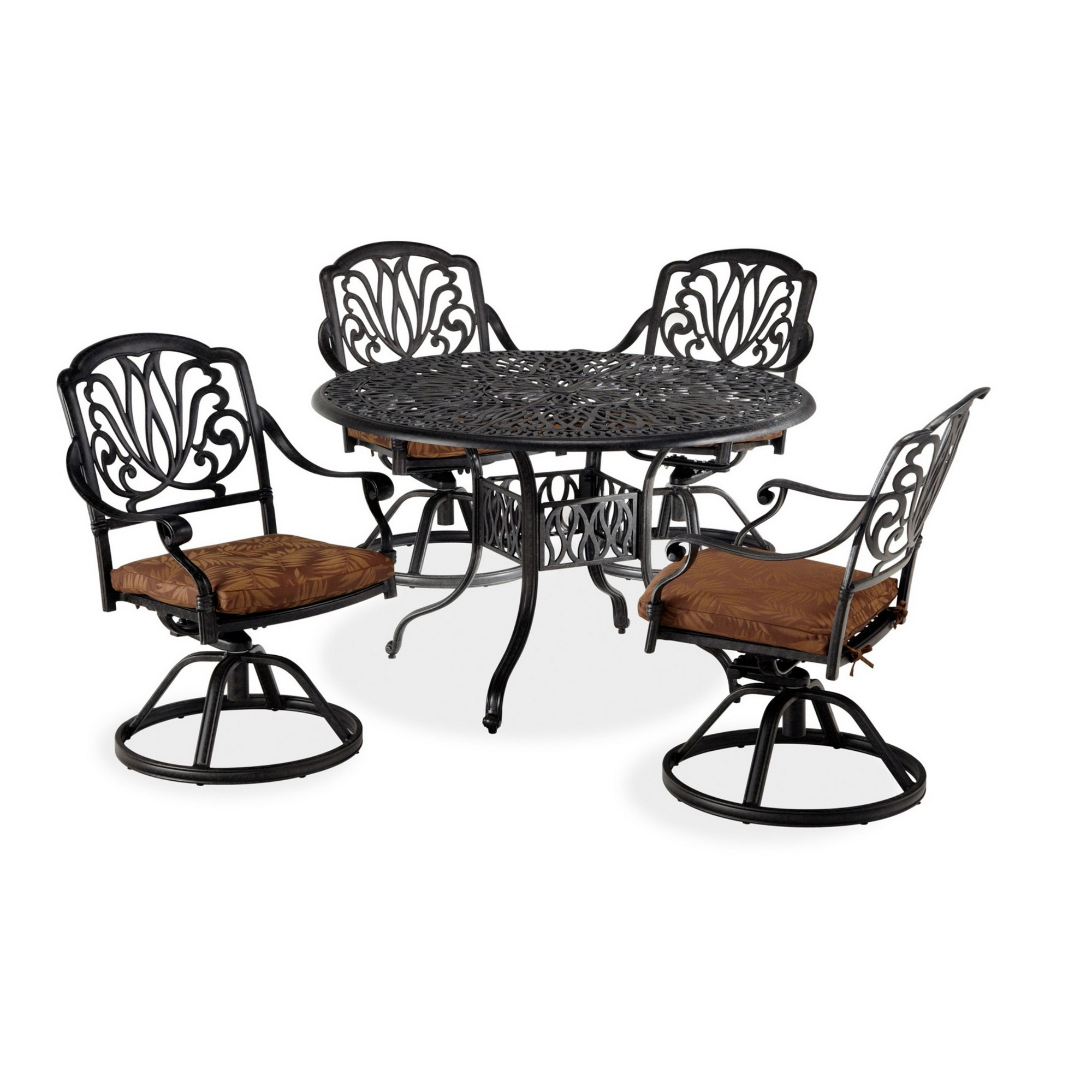 Capri 5 Piece Outdoor Dining Set by homestyles at Sam Levitz Furniture