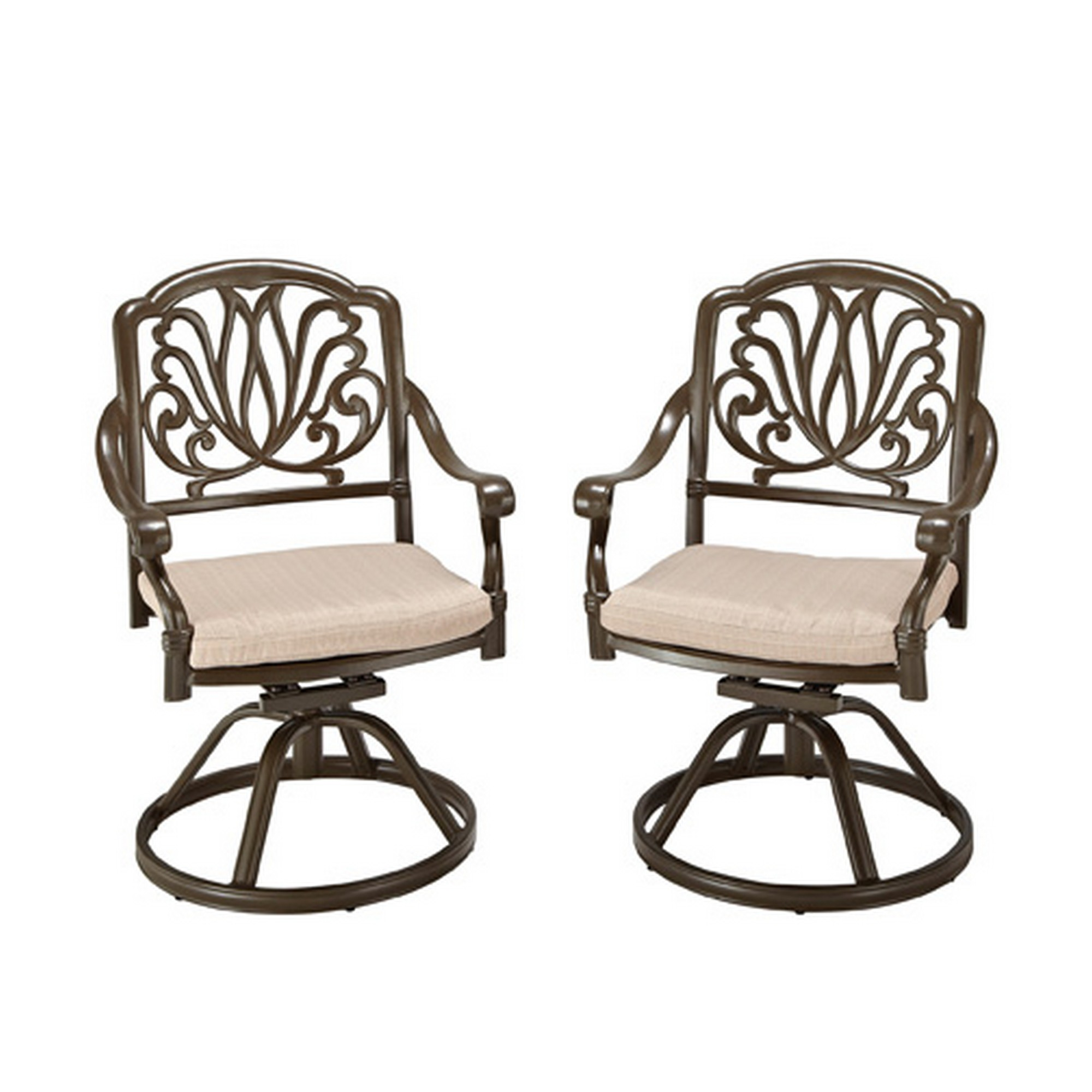 Capri Swivel Rock Dining Chair by homestyles at Sam Levitz Outlet