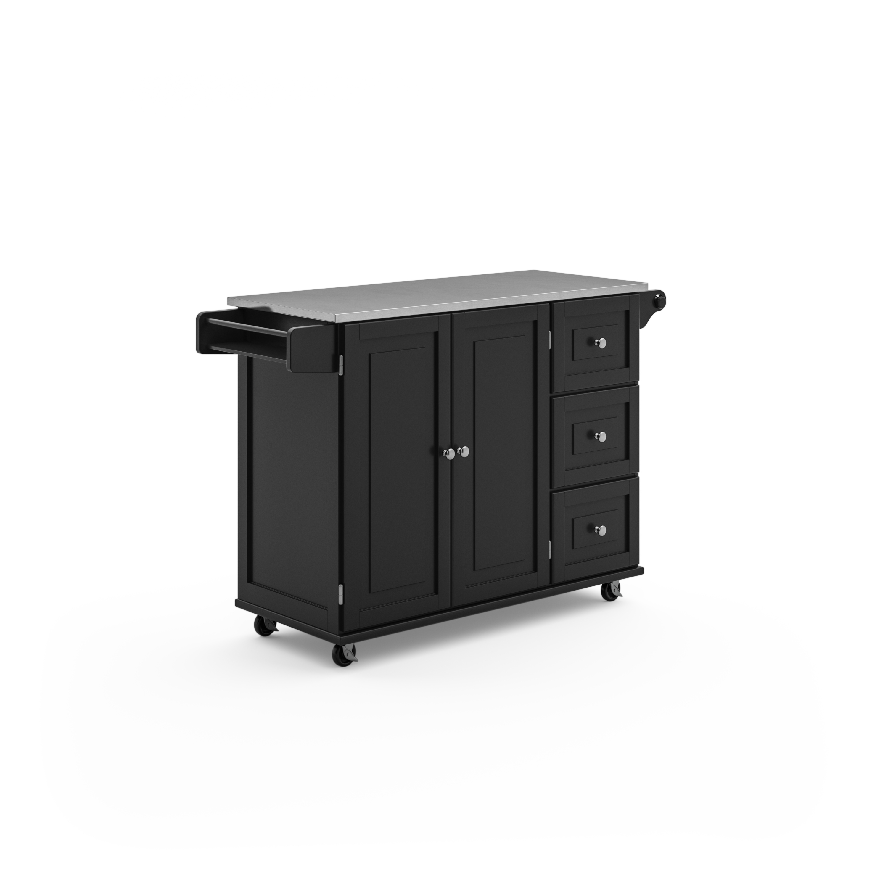 Blanche Kitchen Cart by homestyles at Sam Levitz Outlet