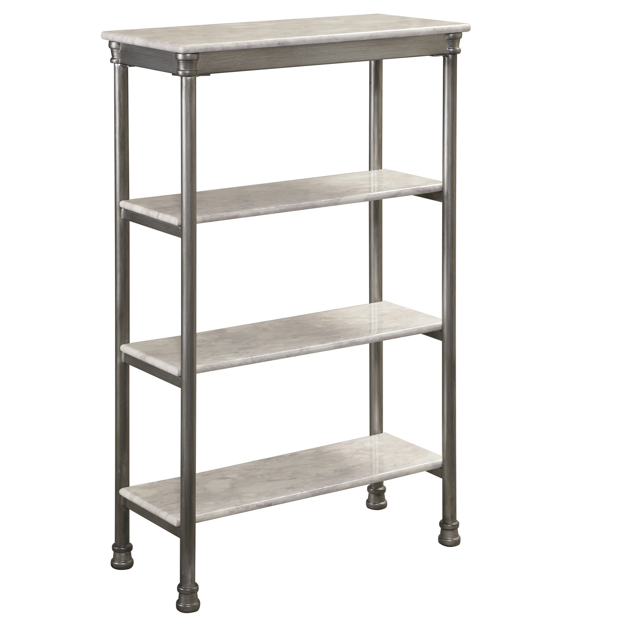 Orleans Four Tier Shelf by homestyles at Sam Levitz Outlet