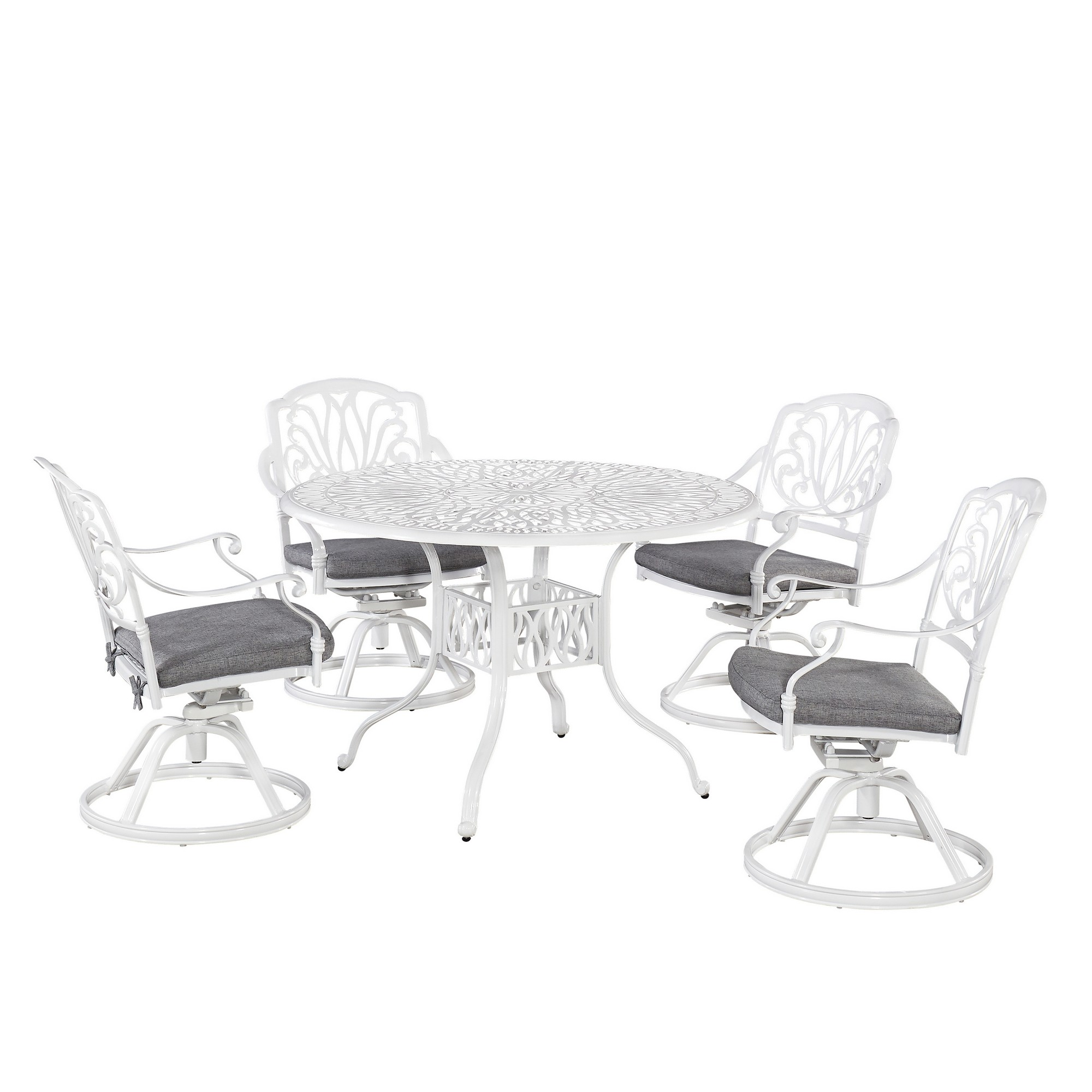 Capri 5 Piece Outdoor Dining Set by homestyles at Value City Furniture