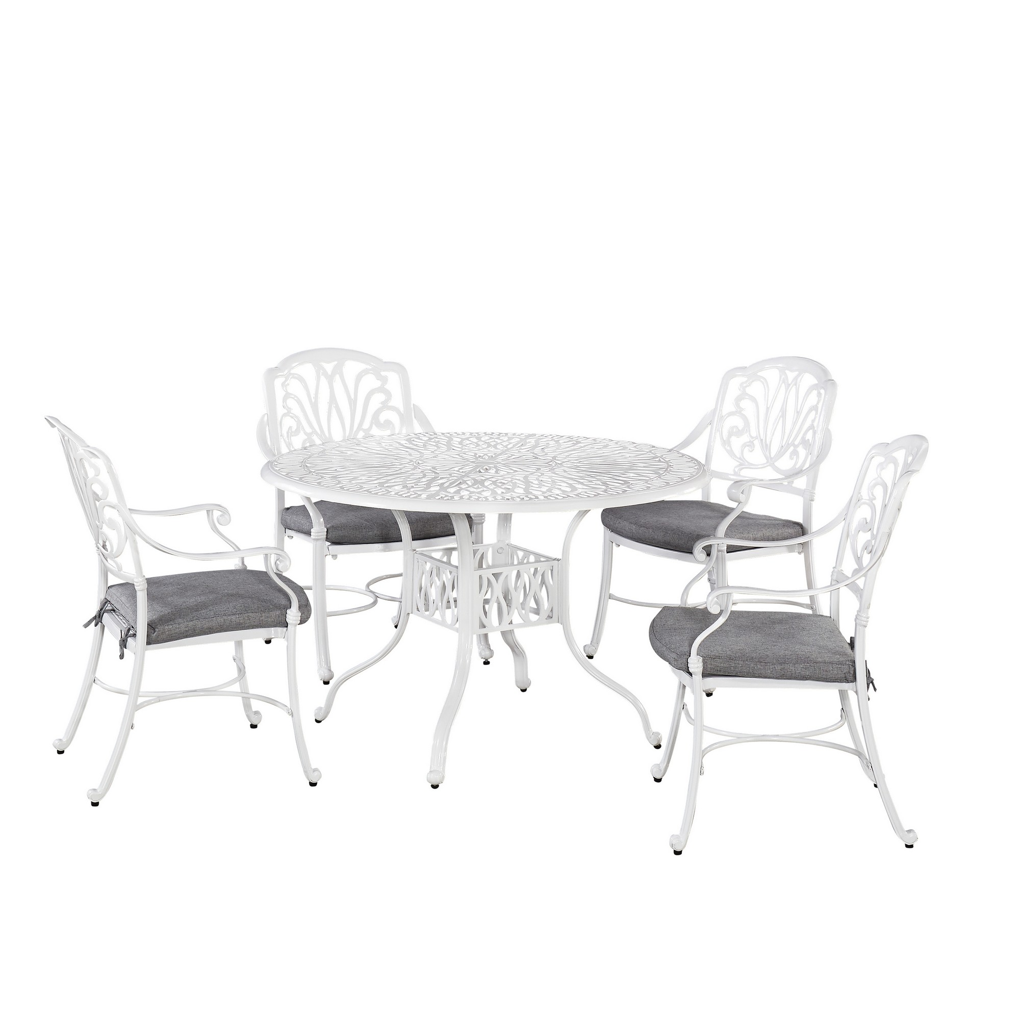 Capri 5 Piece Outdoor Dining Set by homestyles at Sam Levitz Outlet