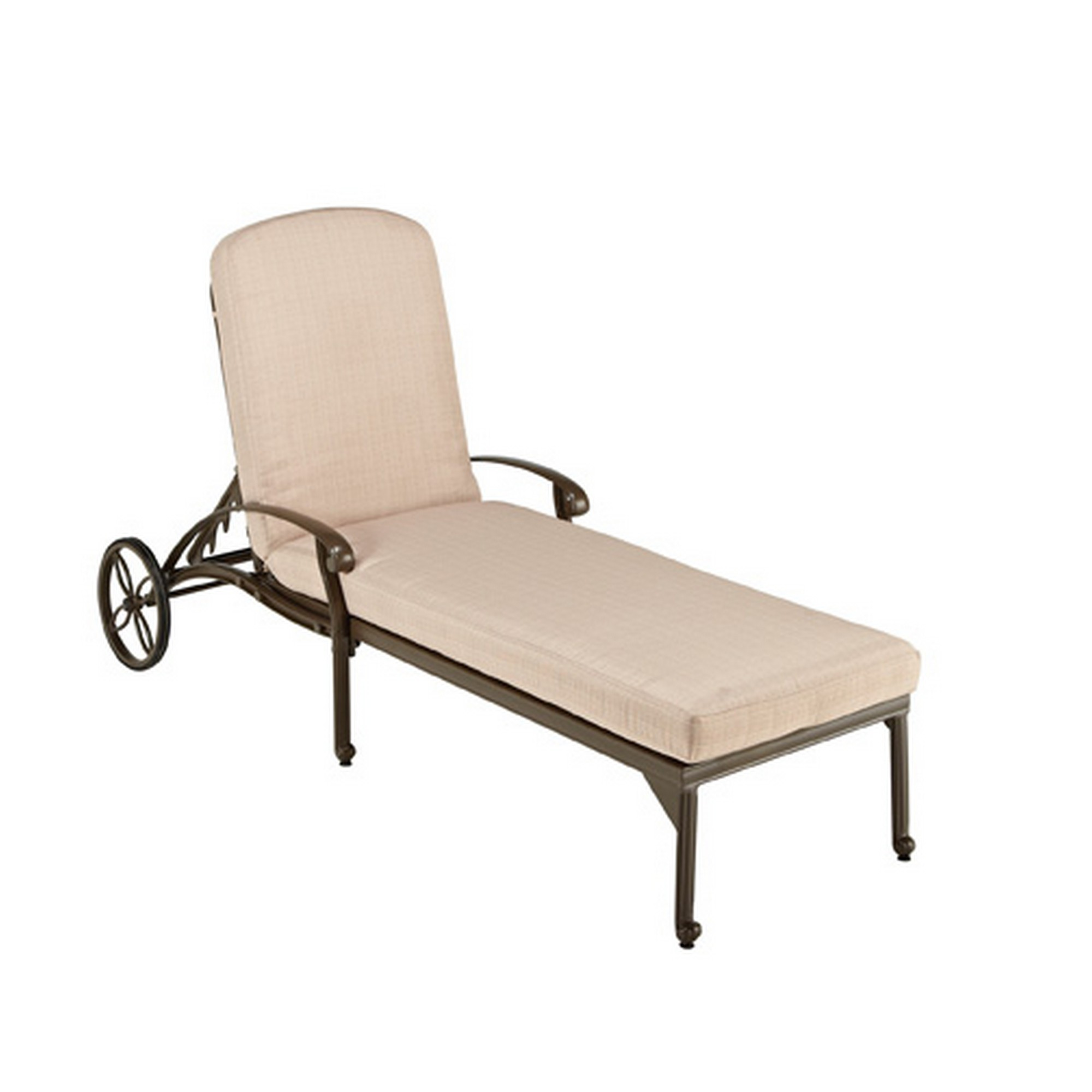 Capri Outdoor Chaise Lounge by homestyles at Sam Levitz Furniture