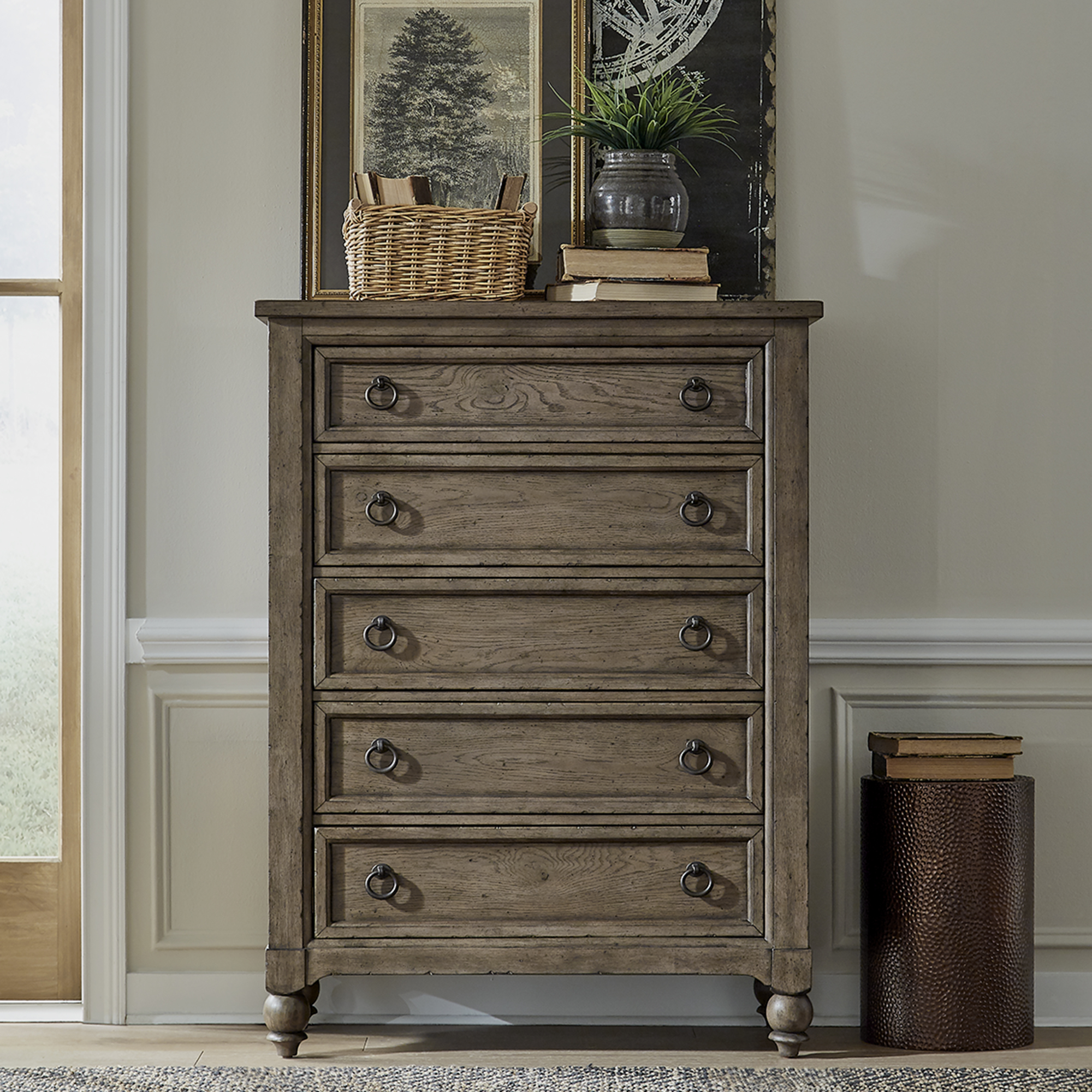 Americana Farmhouse Bedroom Chest by Liberty Furniture at Standard Furniture