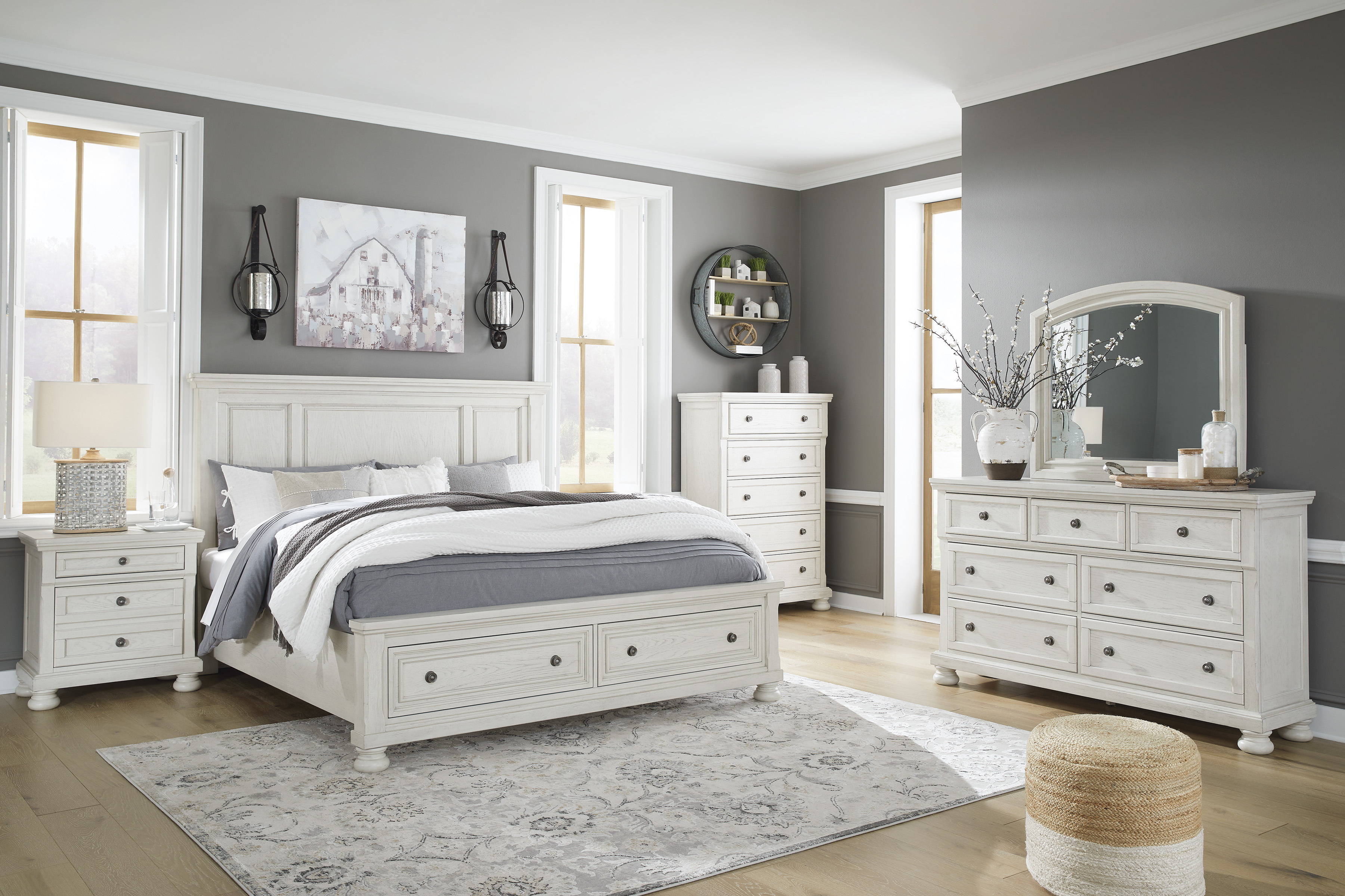 Robbinsdale Bedroom Groups by Signature Design by Ashley at Standard Furniture