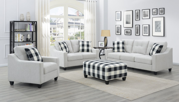 Darcey Stationary Living Room Groups by Emerald at Northeast Factory Direct
