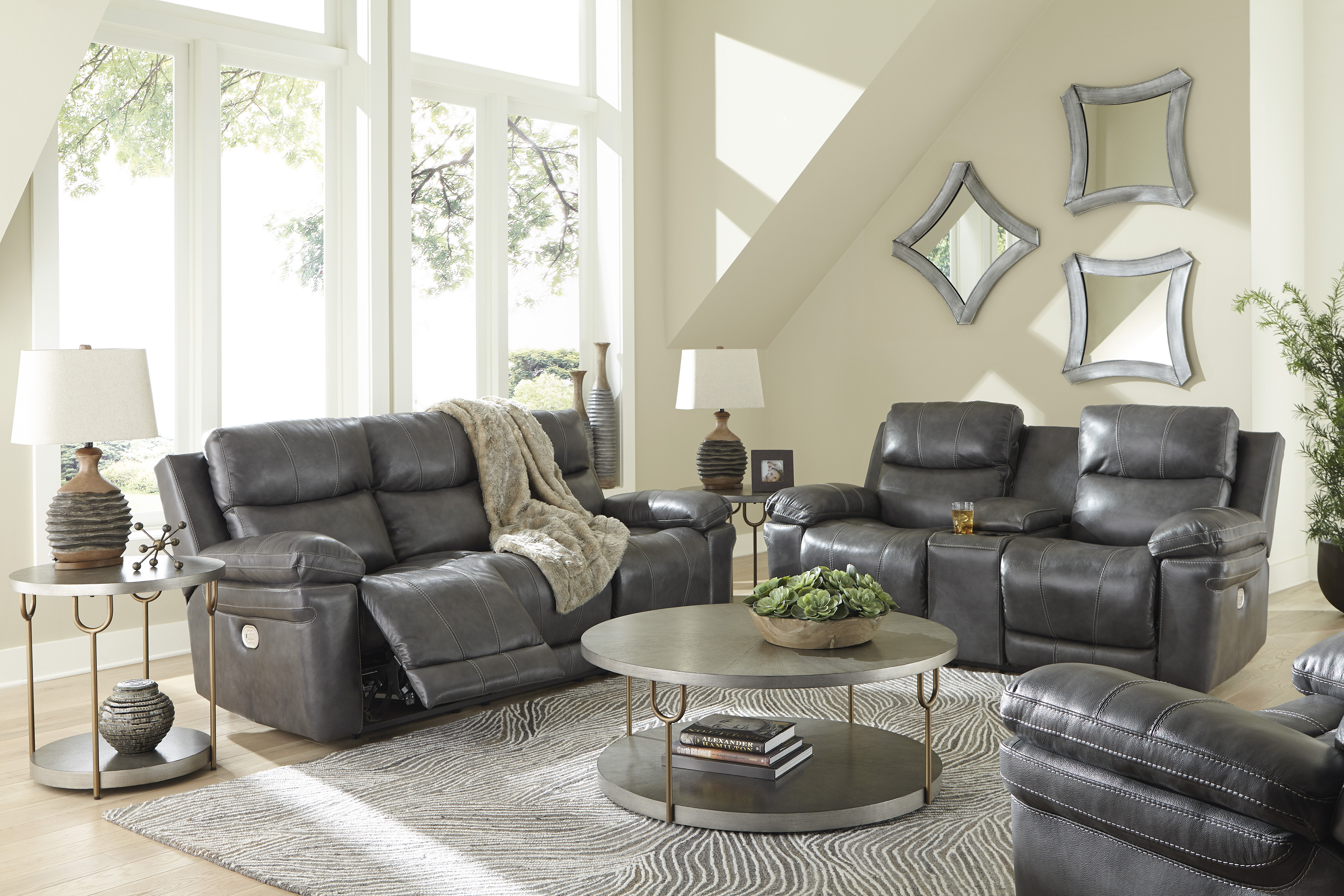 Edmar Stationary Living Room Groups by Signature Design by Ashley at Esprit Decor Home Furnishings