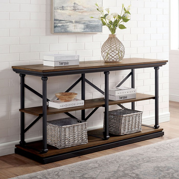 Lemuel Sofa Table by Furniture of America at Dream Home Interiors