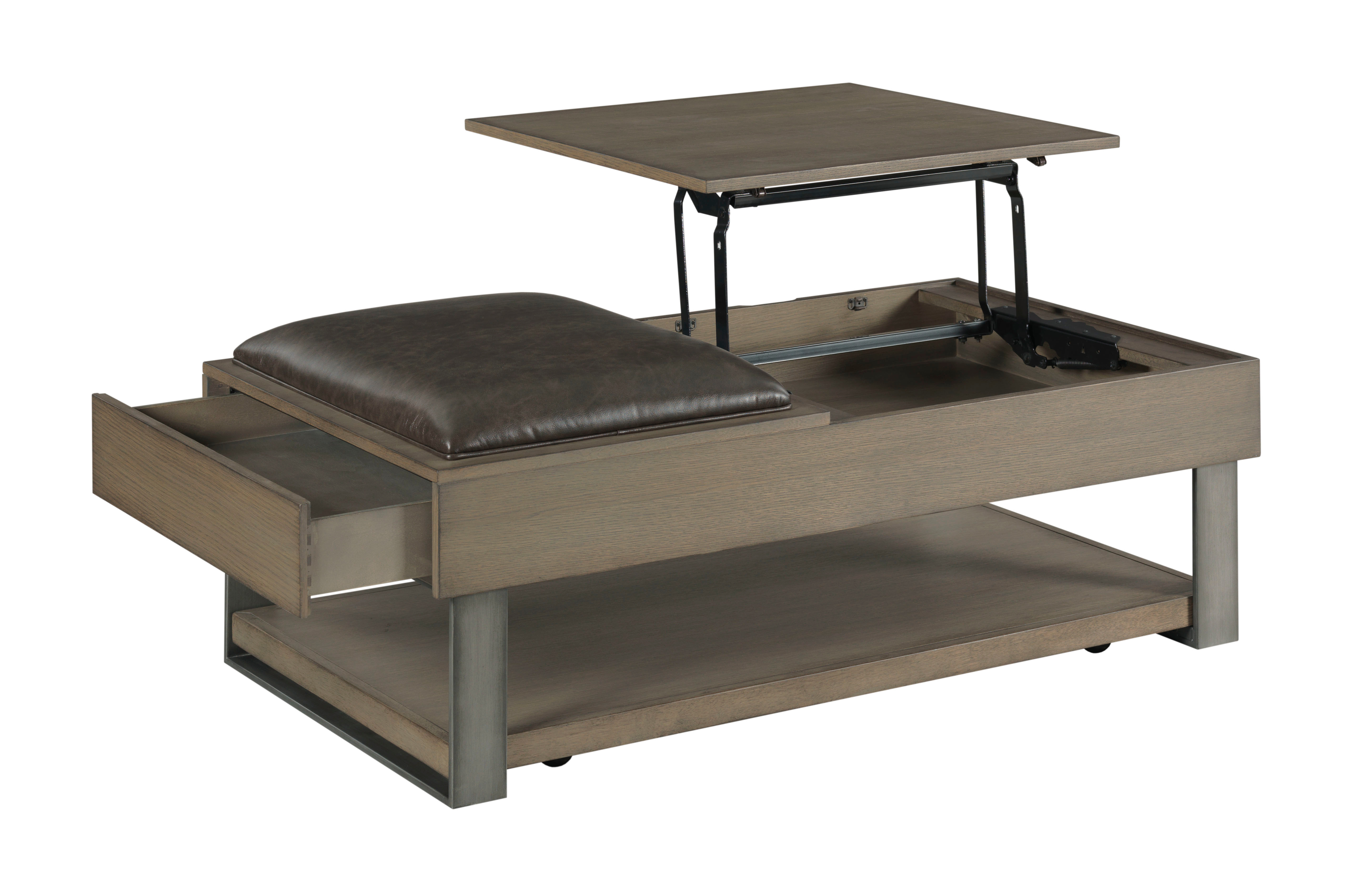 Stella Coffee Ottoman Table by Hammary at Crowley Furniture & Mattress