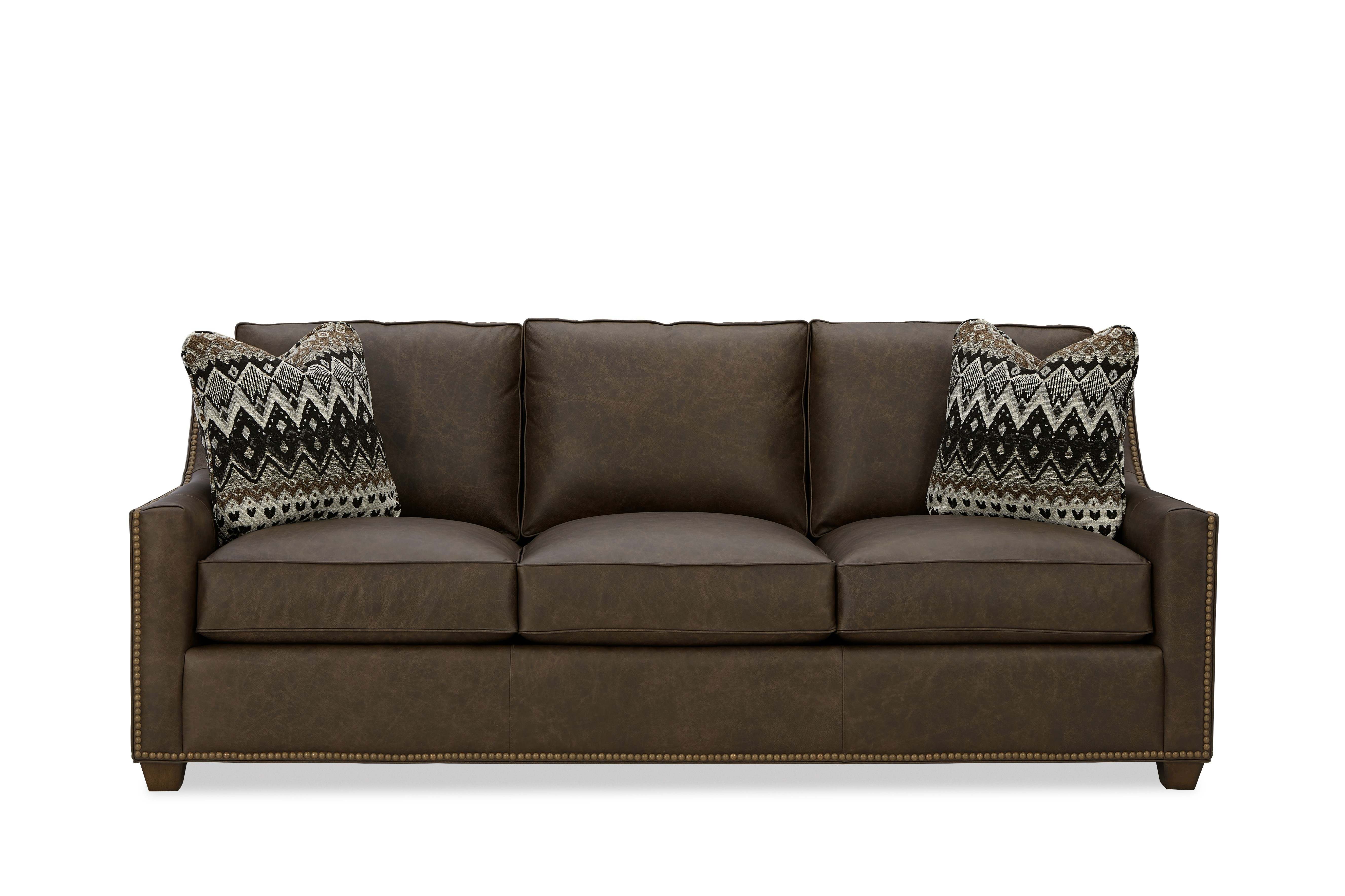 L702950BD Sofa w/ Pillows by Hickory Craft at Godby Home Furnishings