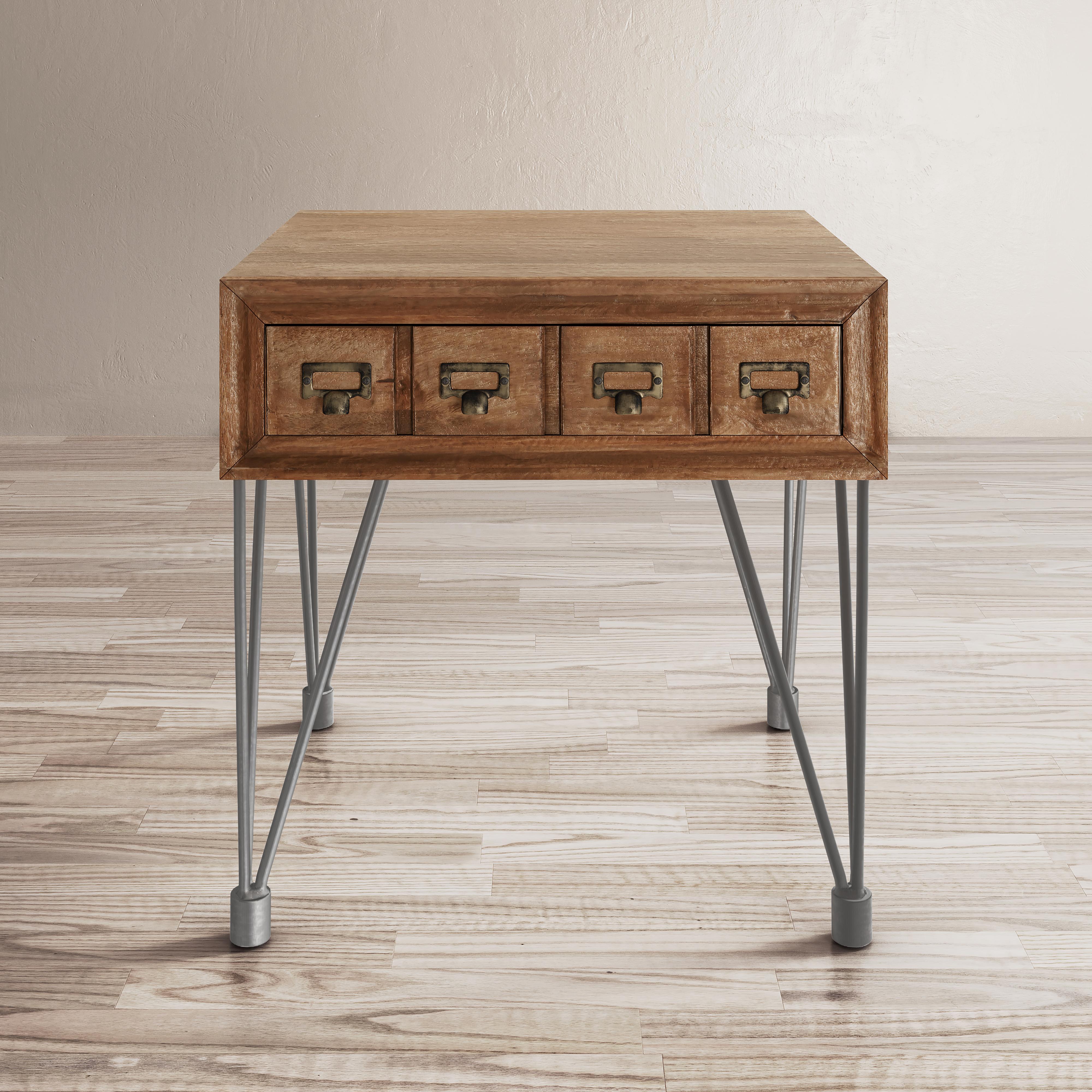 American Vintage End Table by Jofran at Jofran