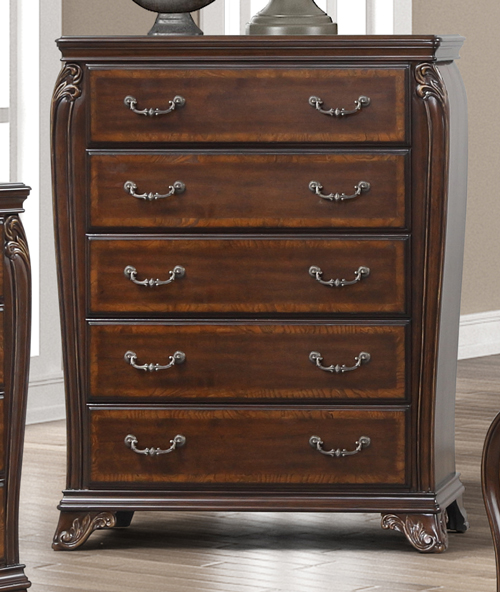 Montecito 5-Drawer Chest  by New Classic at Beds N Stuff