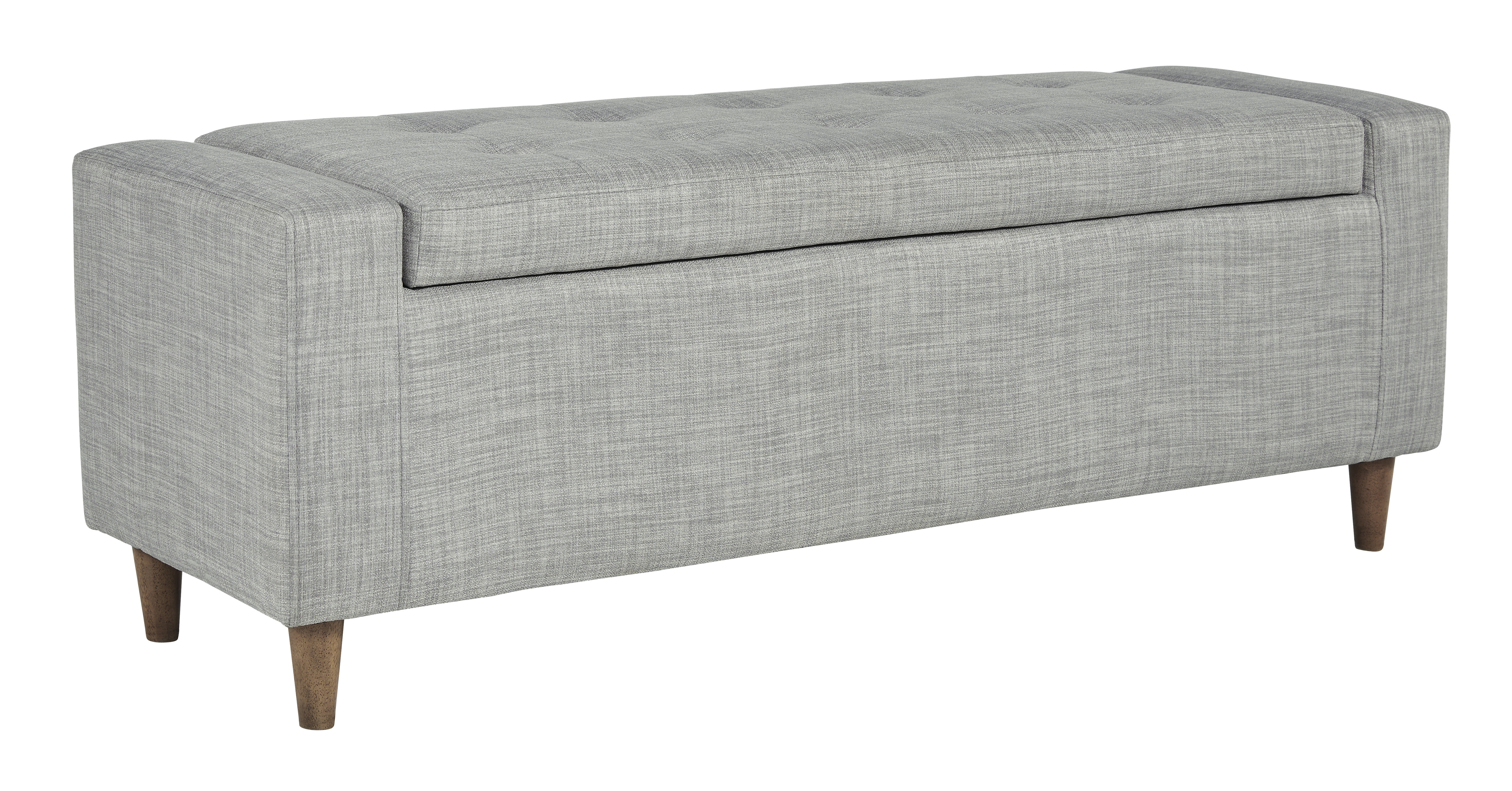 Winler Upholstered Accent Bench by Signature at Walker's Furniture