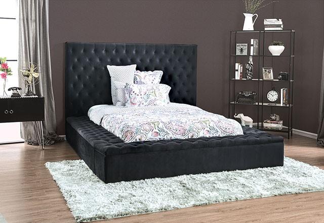 Davida King Bed by Furniture of America at Dream Home Interiors