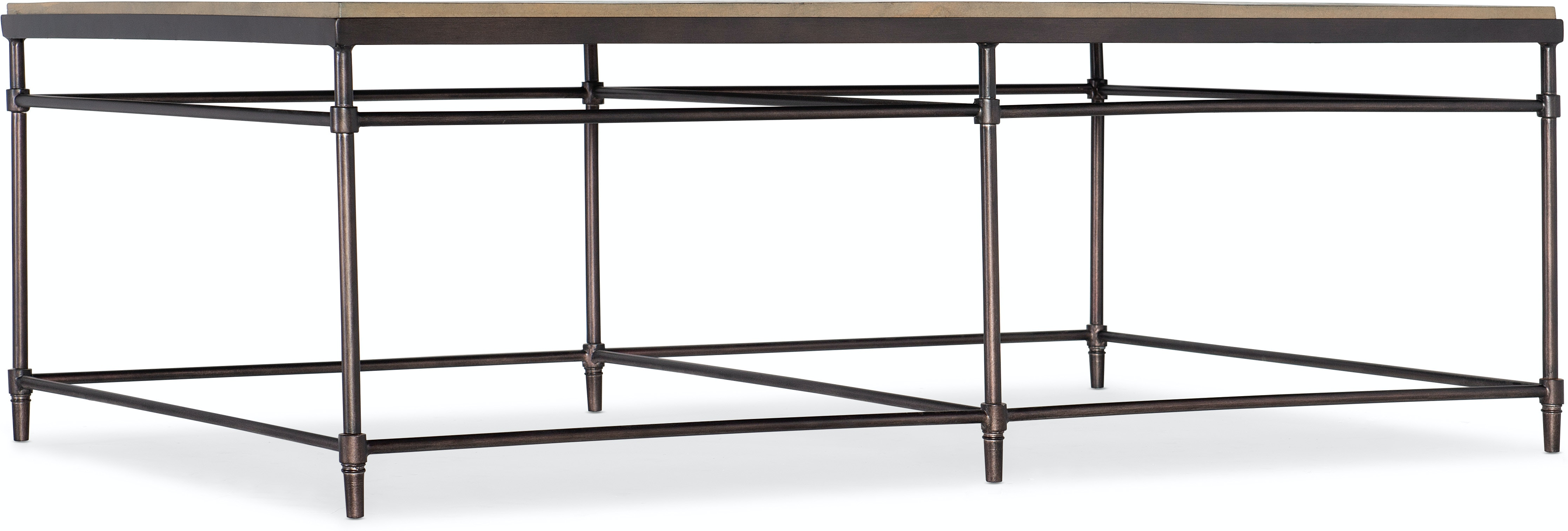Saint Armand Rectangular Cocktail Table by Hooker Furniture at Miller Waldrop Furniture and Decor