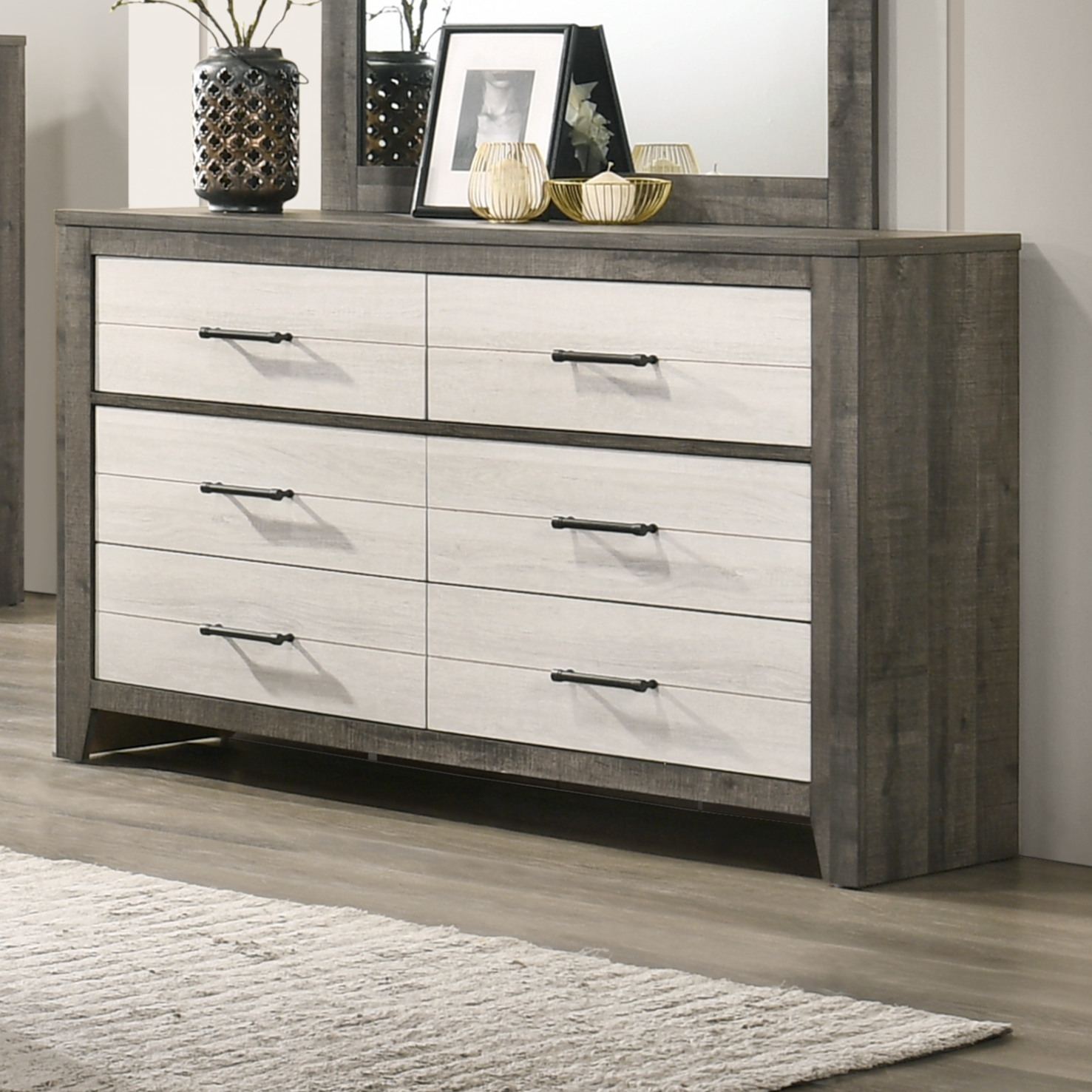 Rhett Dresser by Crown Mark at A1 Furniture & Mattress