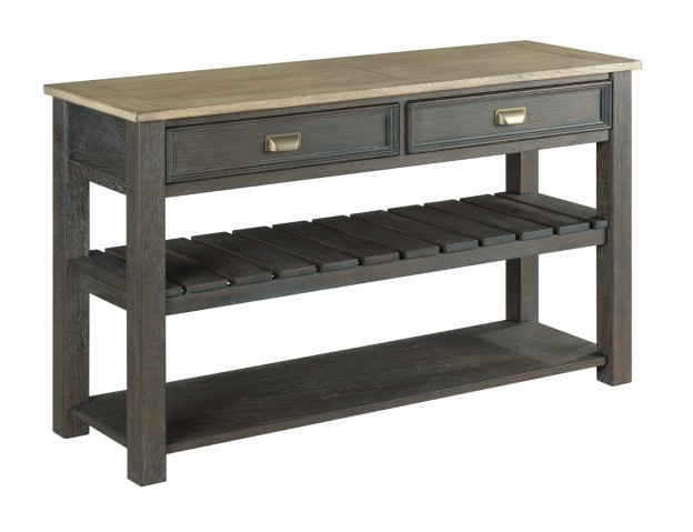 Finnegan Sofa Table by England at Crowley Furniture & Mattress