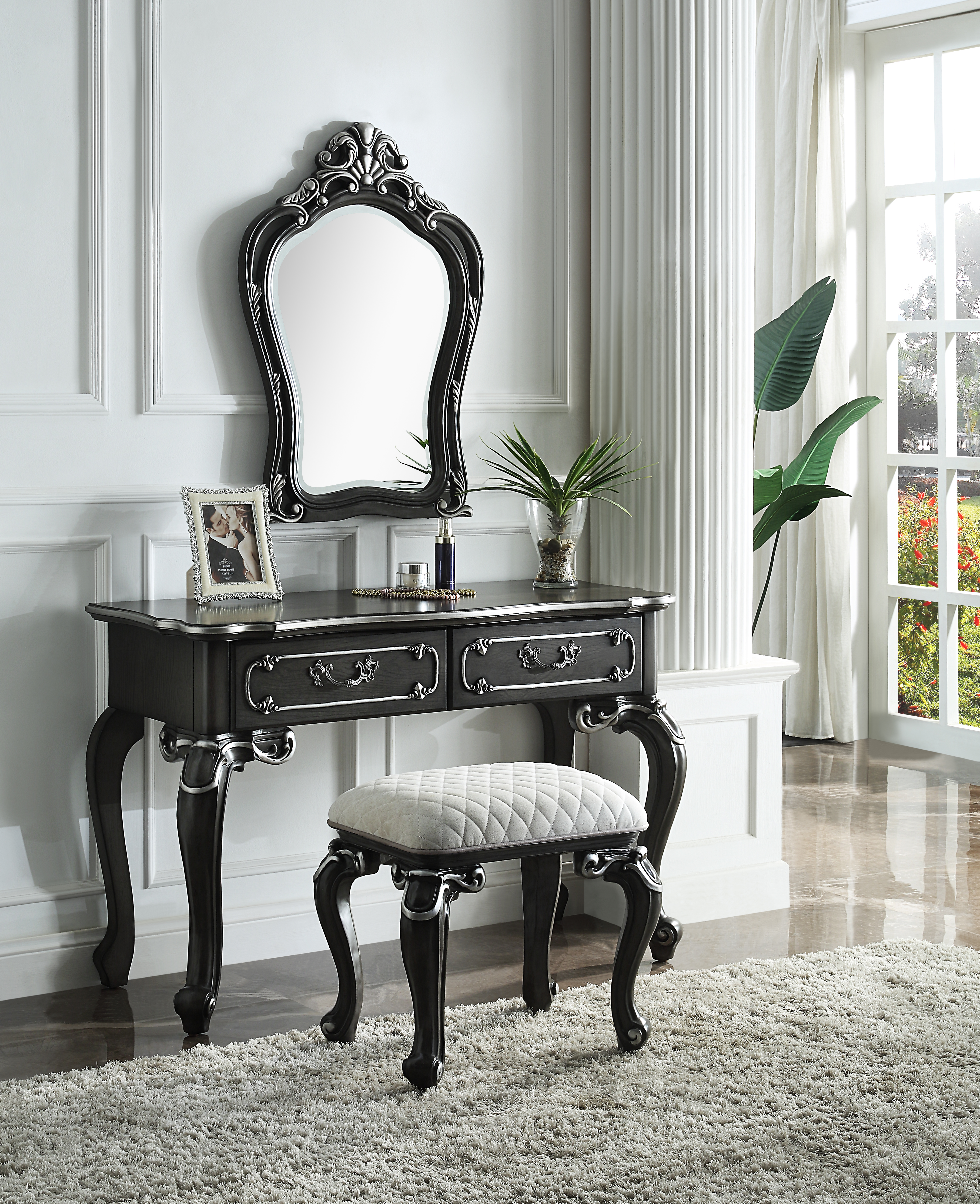 House Delphine Vanity Set by Acme Furniture at Dream Home Interiors
