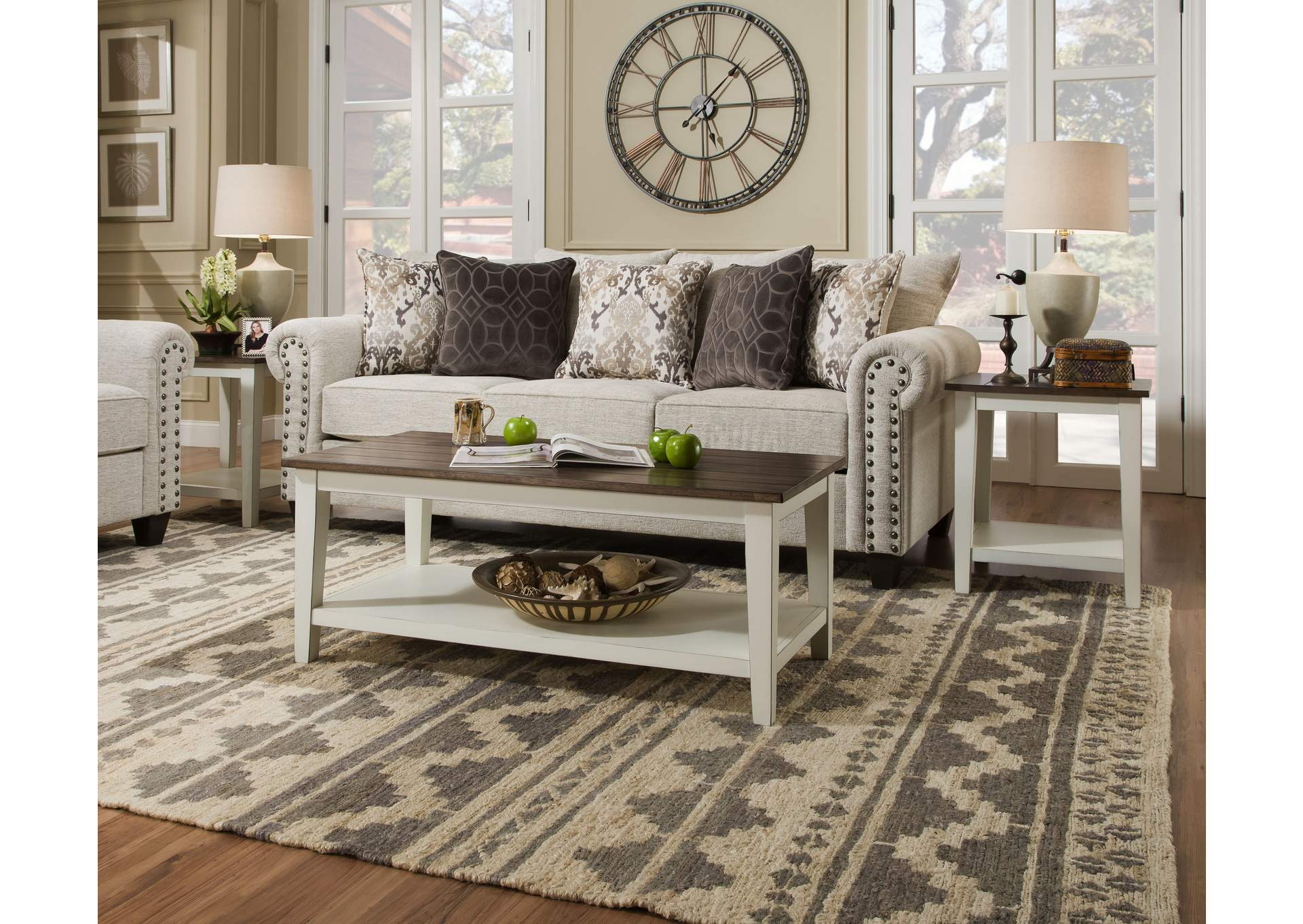 7557 Occasional Table Set by Lane at Story & Lee Furniture