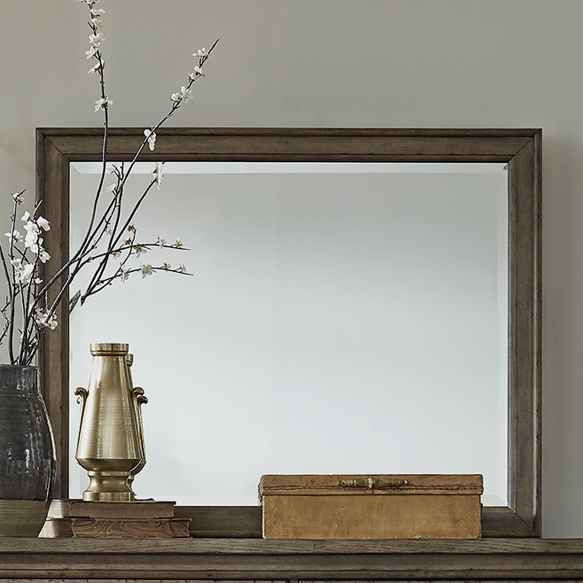 Americana Farmhouse Landscape Dresser Mirror by Liberty Furniture at Lynn's Furniture & Mattress