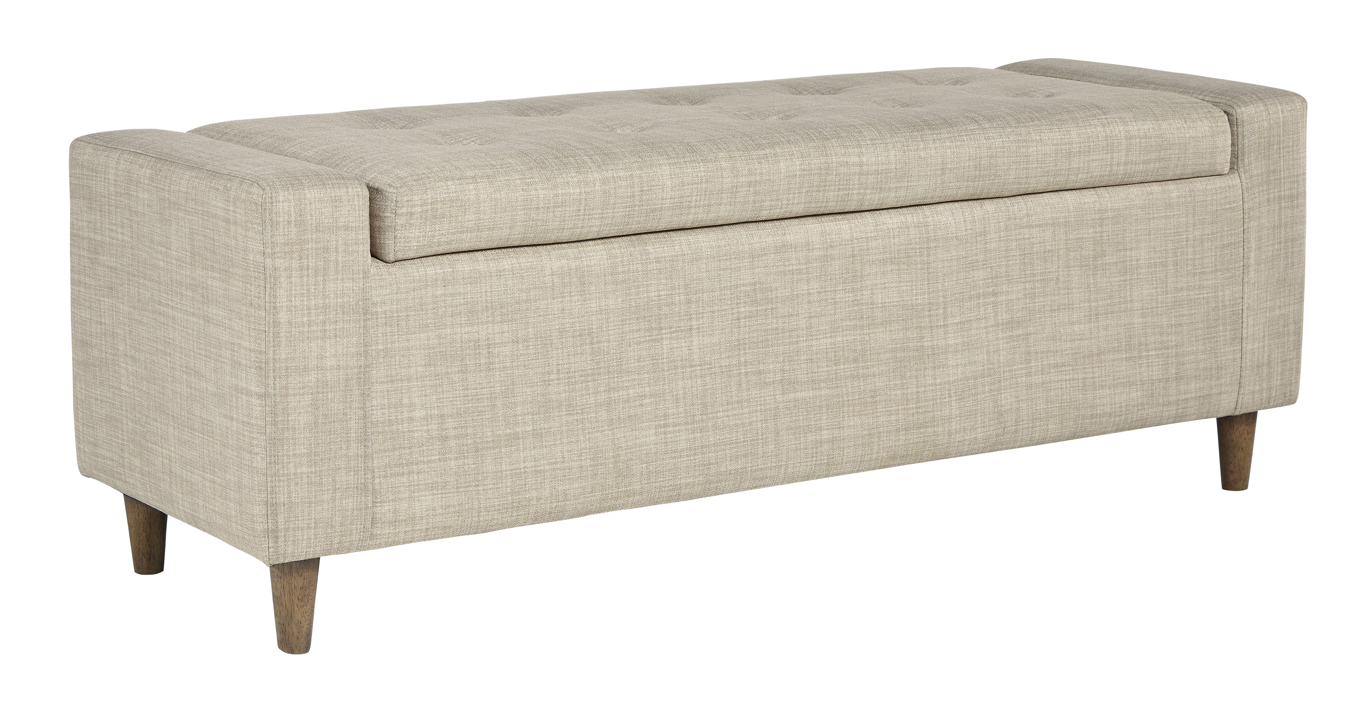 Winler Upholstered Accent Bench by Signature Design by Ashley at Catalog Outlet