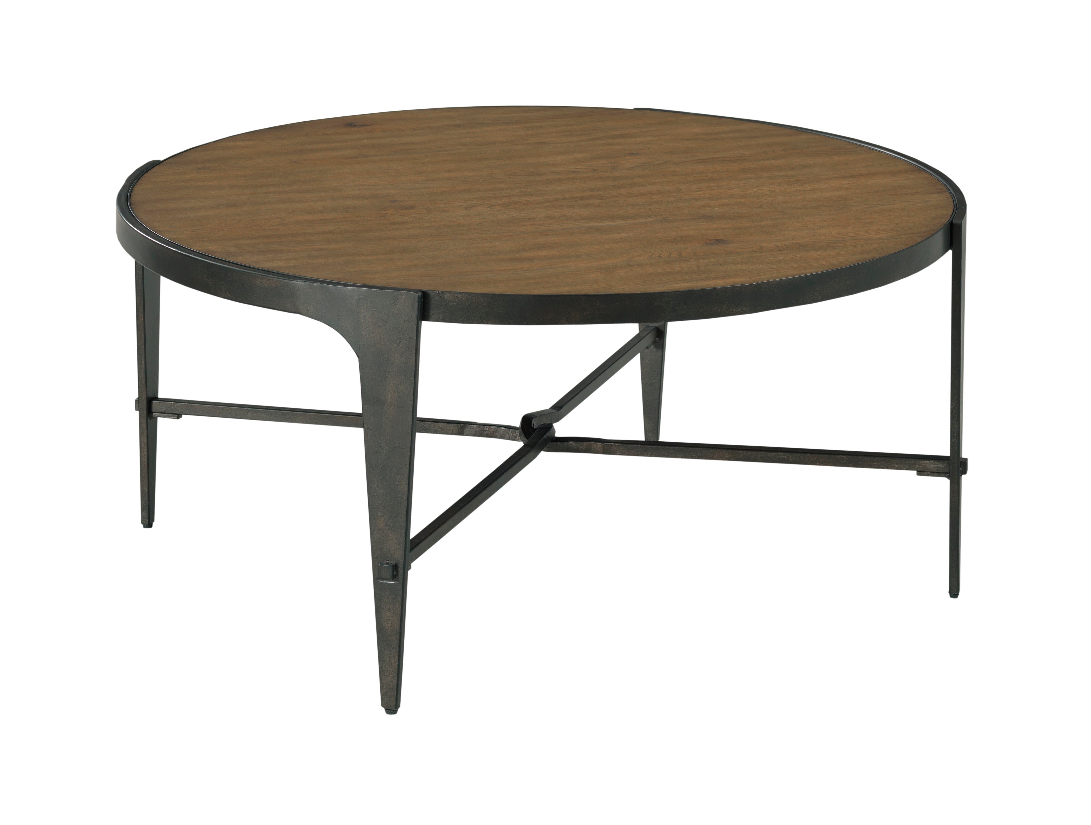 Olmsted Round Coffee Table by Hammary at Crowley Furniture & Mattress