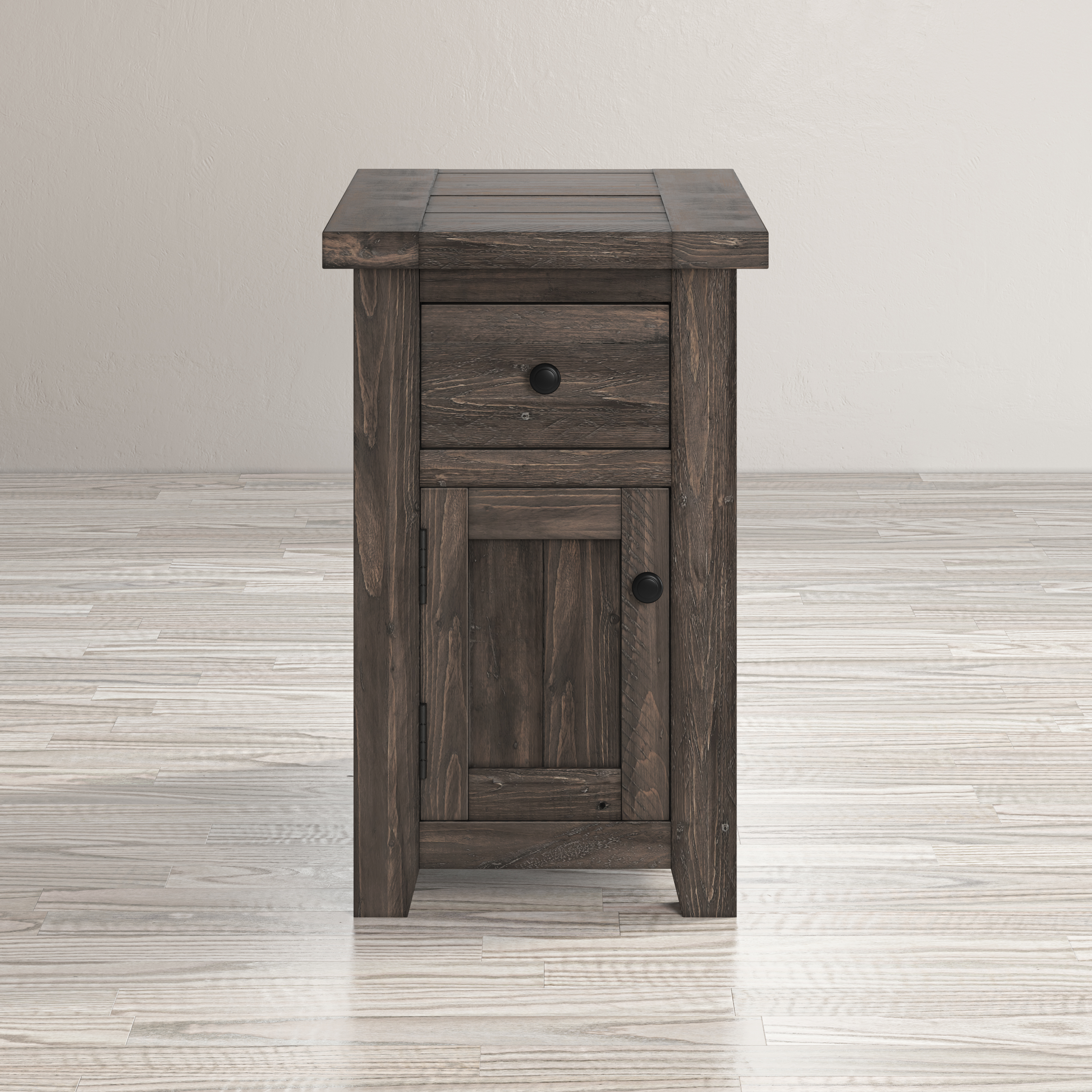 Madison County Chairside Table by Jofran at Darvin Furniture