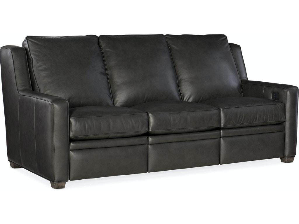Power Recline Sofa w/ Power Headrest