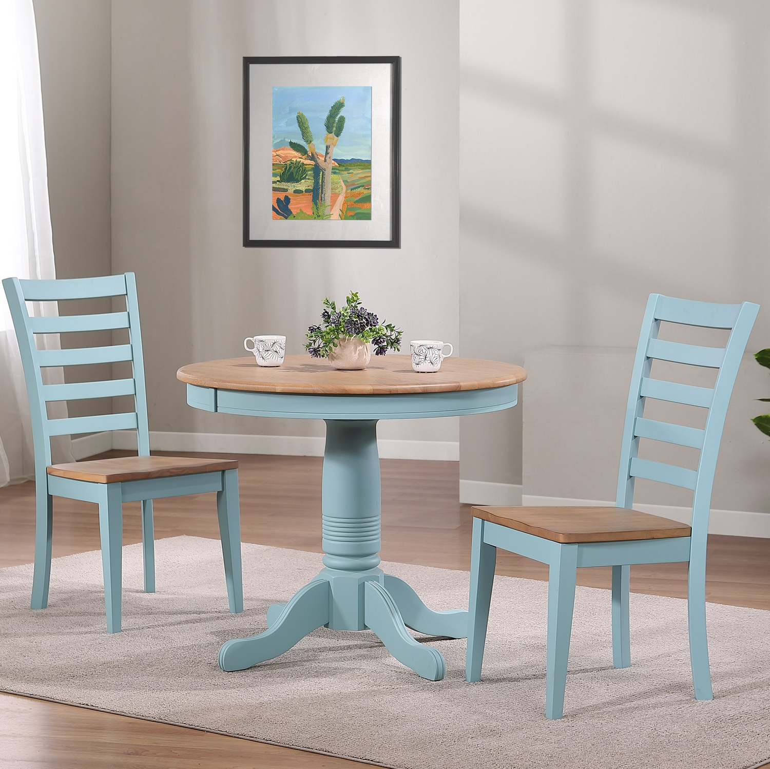 Palm Bay 3-Piece Dining Set by Winners Only at Mueller Furniture