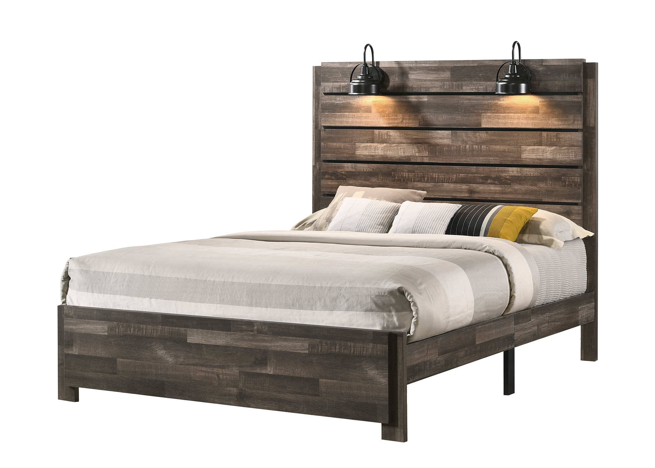 Carter California King Bed in One Box by Crown Mark at Northeast Factory Direct