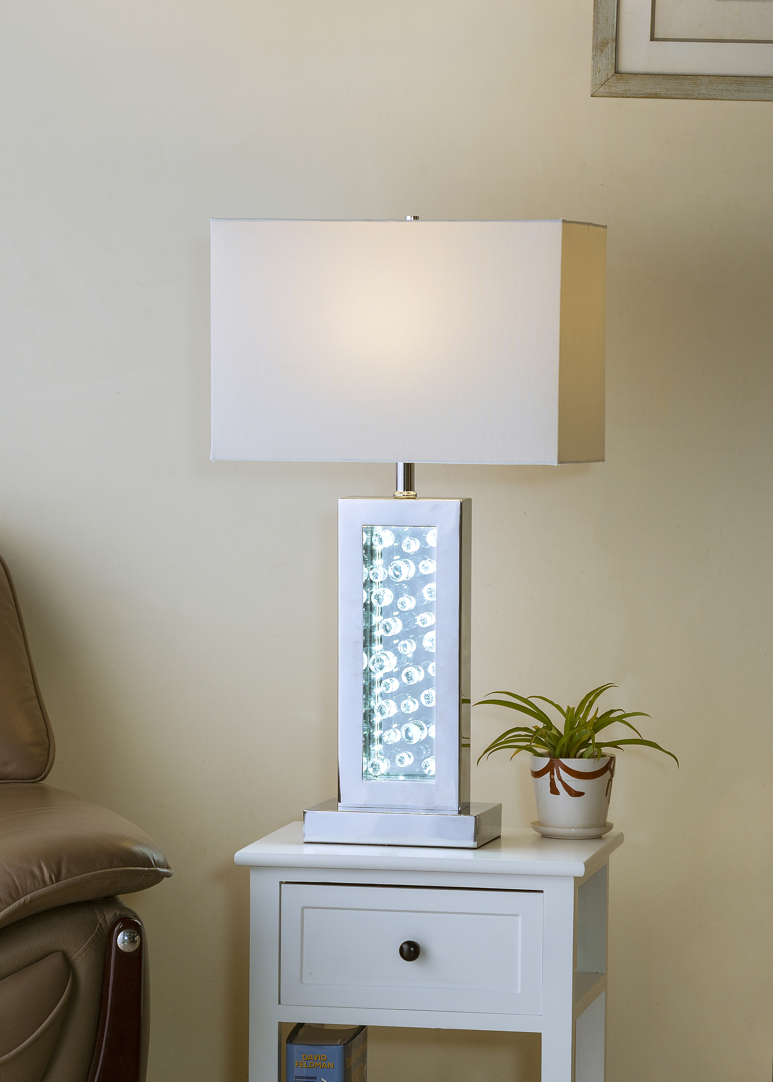 Monica Table Lamp by Crown Mark at Northeast Factory Direct
