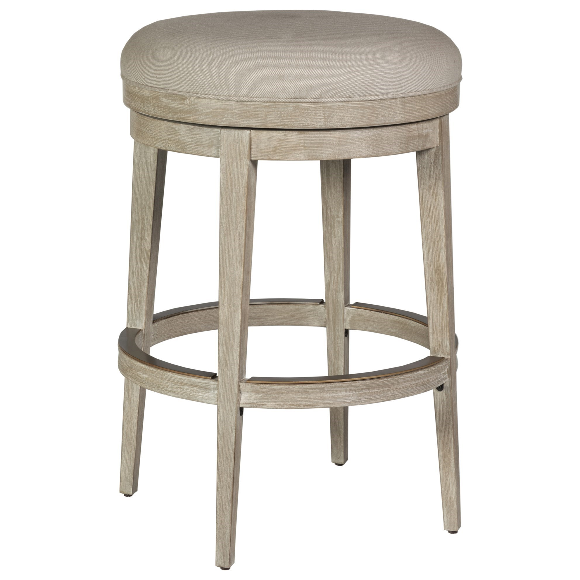 Cohesion Cecile Backless Swivel Barstool by Artistica at Baer's Furniture