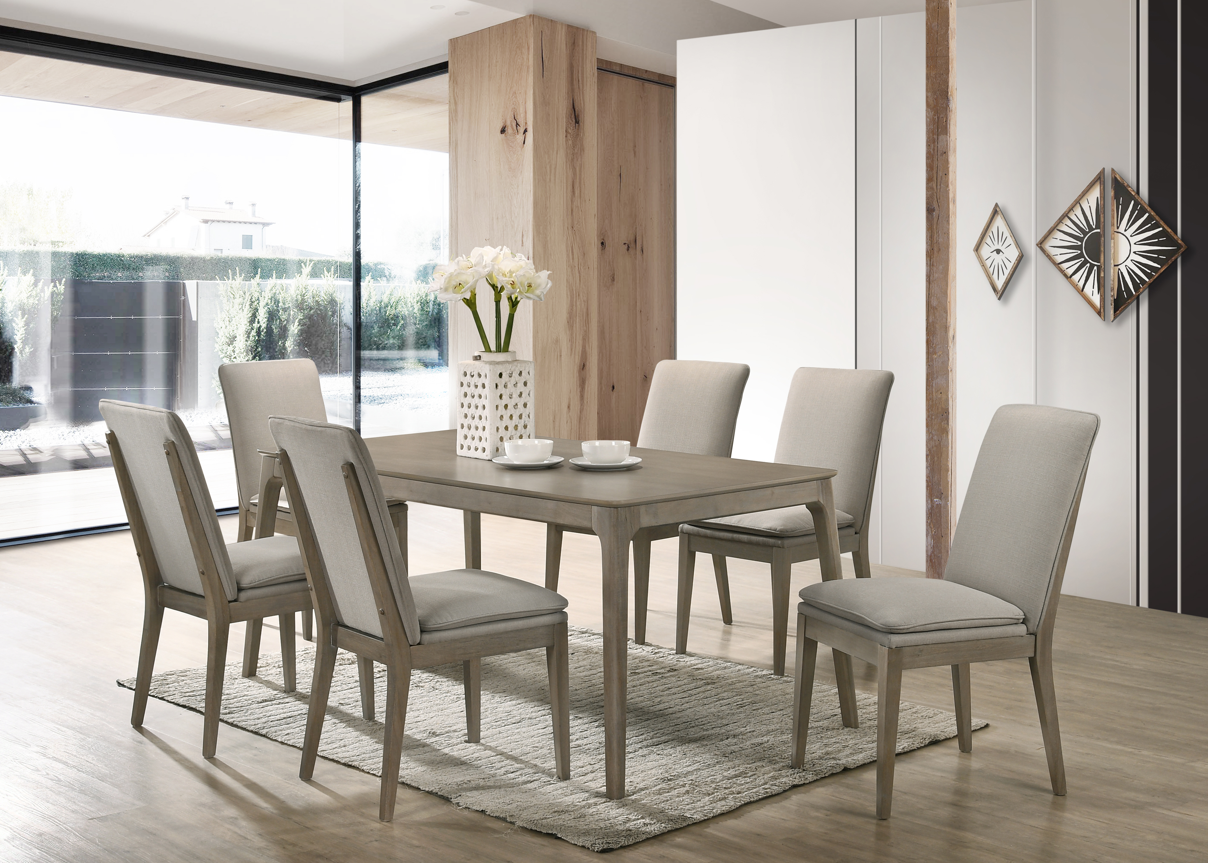 Maggie Dining chair by New Classic at Beds N Stuff
