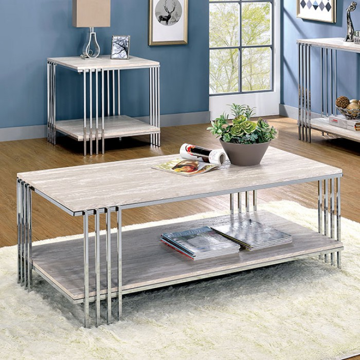 Mulheim Coffee Table by Furniture of America at Dream Home Interiors