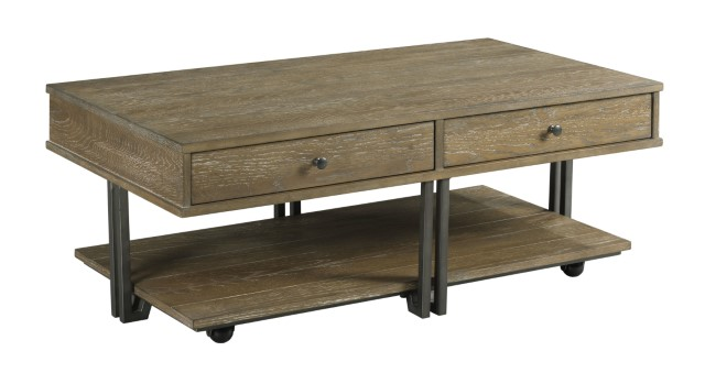 Griffin Cocktail Table by England at Crowley Furniture & Mattress