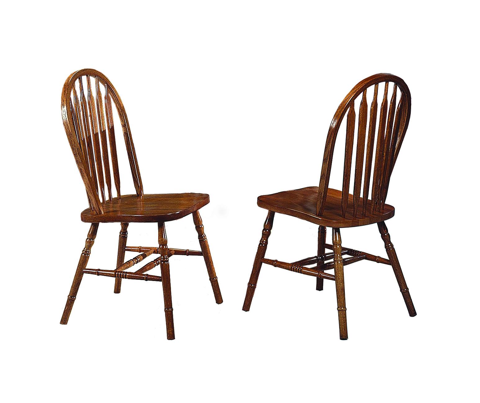 Dark Arrow Side Chair by Crown Mark at Dream Home Interiors