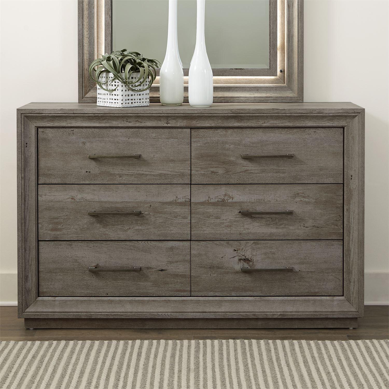 Horizons 6-Drawer Dresser by Liberty Furniture at Suburban Furniture