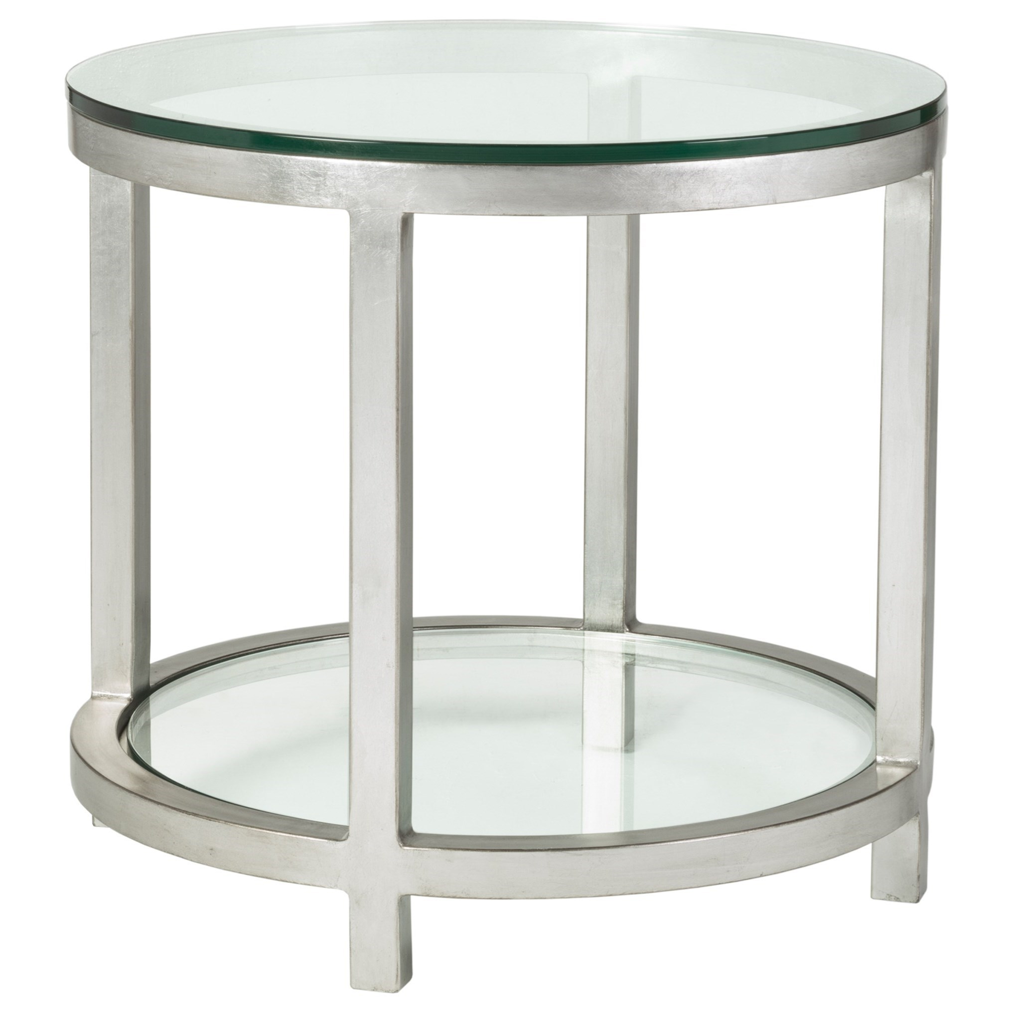 Artistica Metal Per Se Round End Table by Artistica at Baer's Furniture