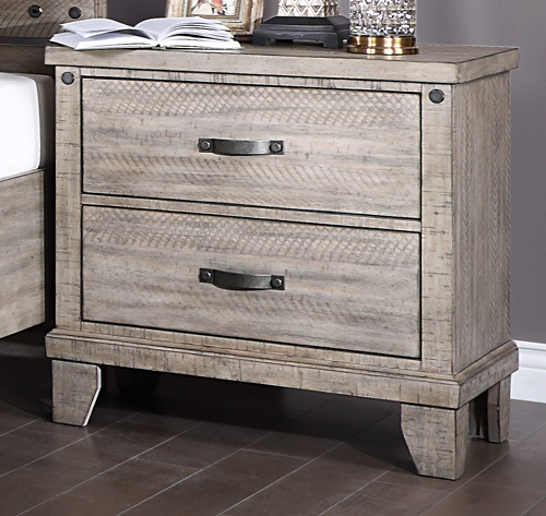 Marwick 2-Drawer Nightstand by New Classic at Beds N Stuff