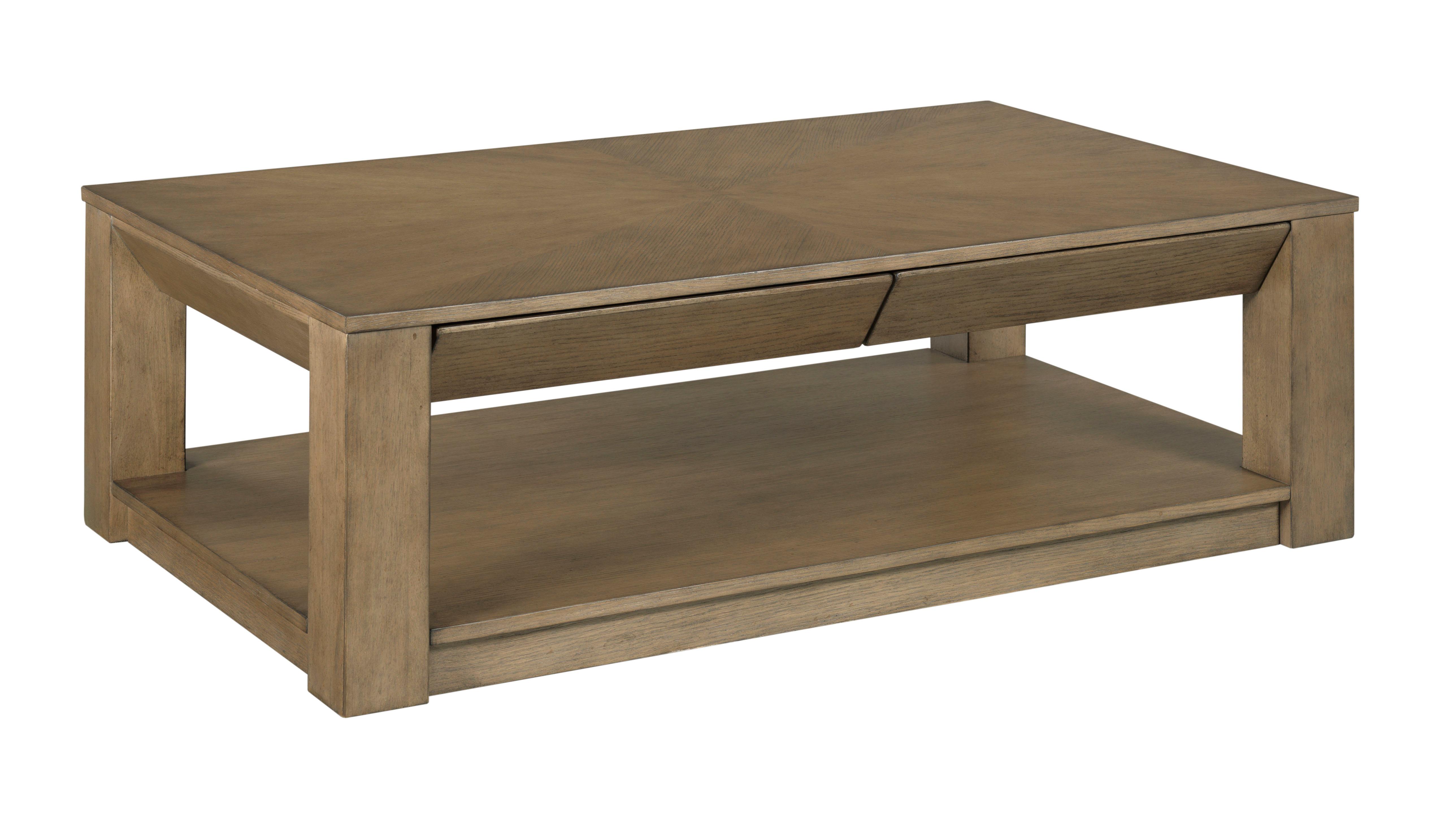 Rectangular Drawer Coffee Table