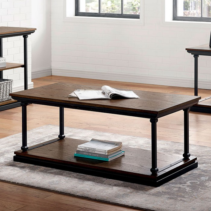 Lemuel Coffee Table by Furniture of America at Dream Home Interiors