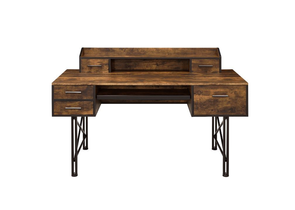Safea Computer Desk by Acme Furniture at A1 Furniture & Mattress