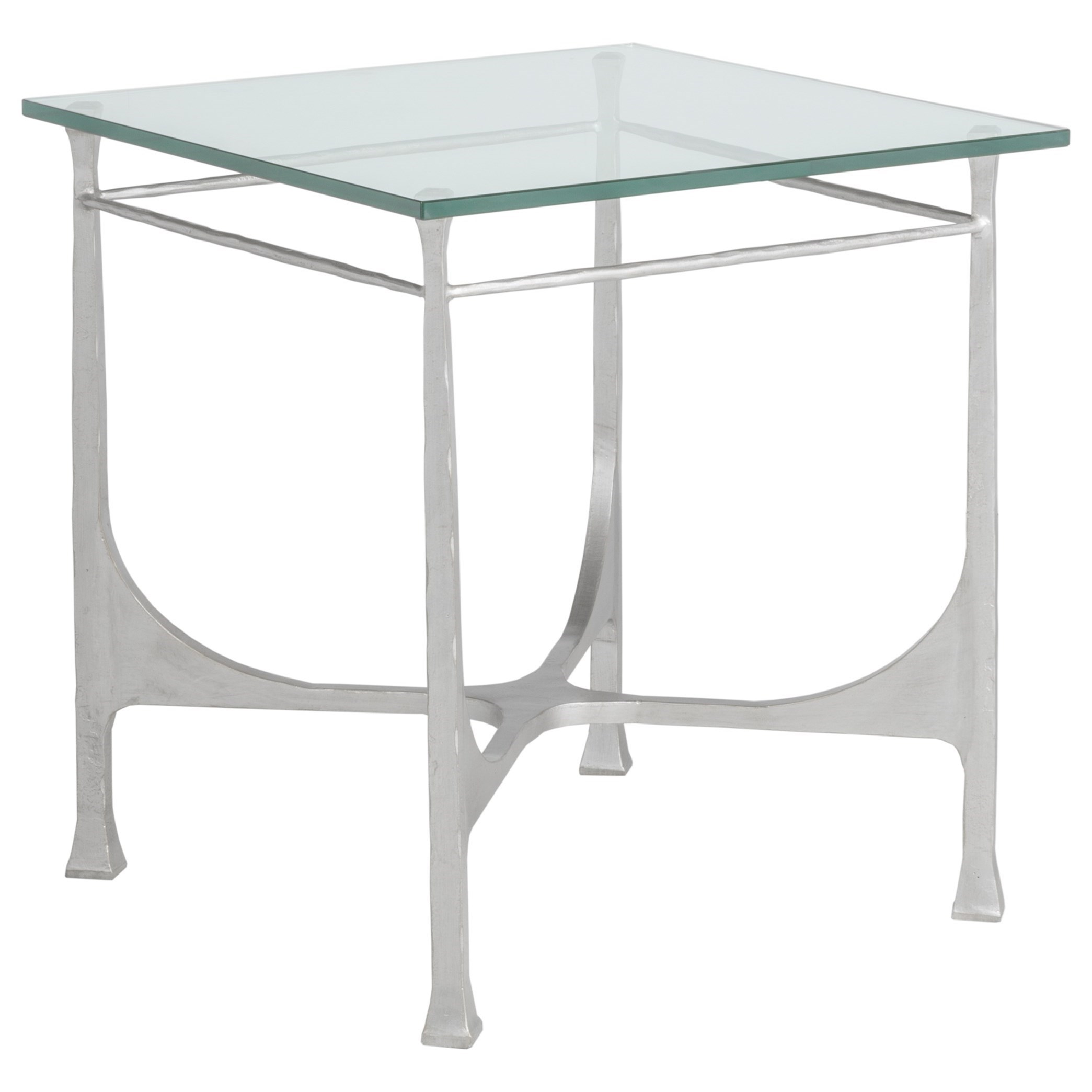Artistica Metal Bruno Square End Table by Artistica at Baer's Furniture