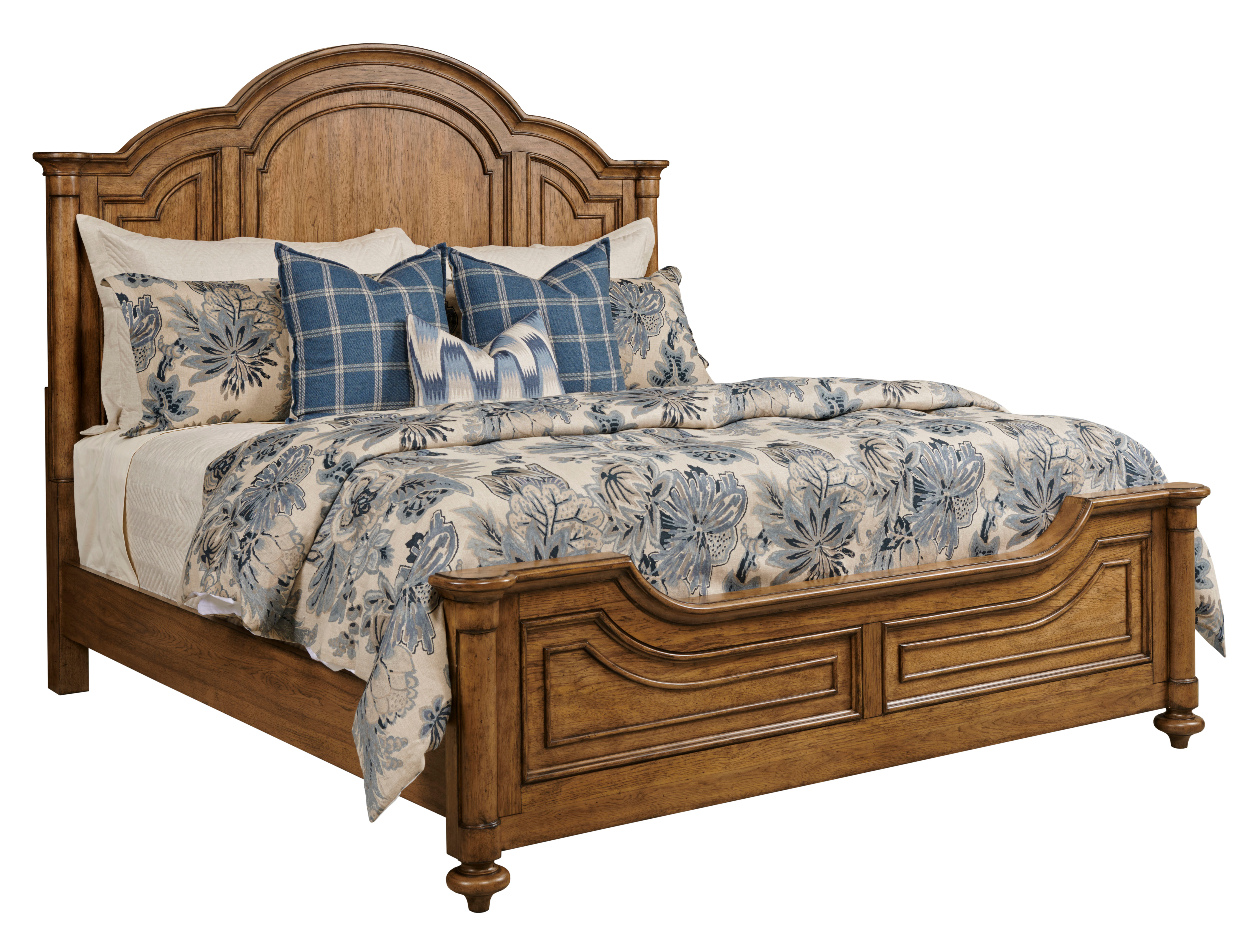 Berkshire Cal King Panel Bed by Living Trends at Sprintz Furniture