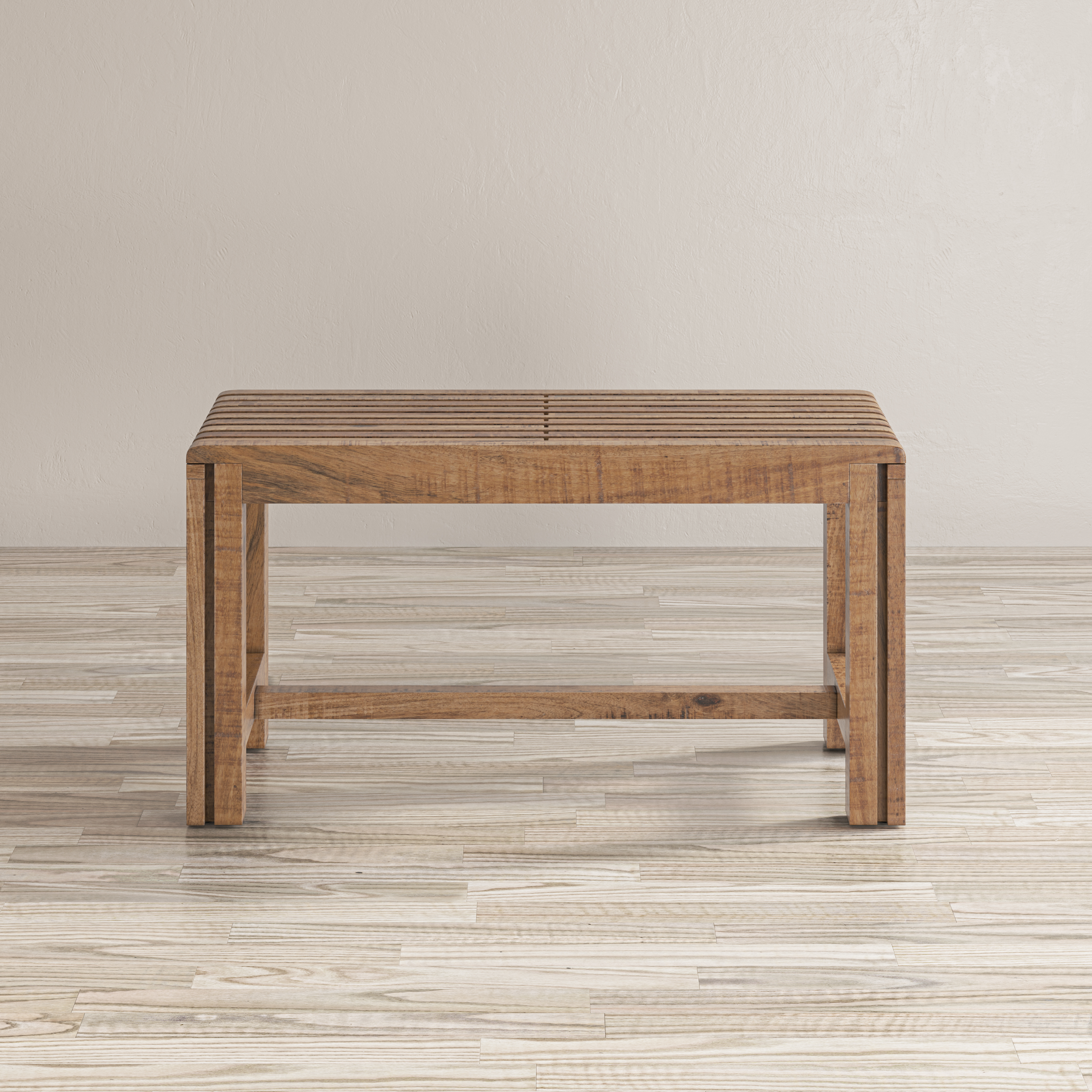 Global Archive Bradford Extendable Bench by Jofran at Stuckey Furniture