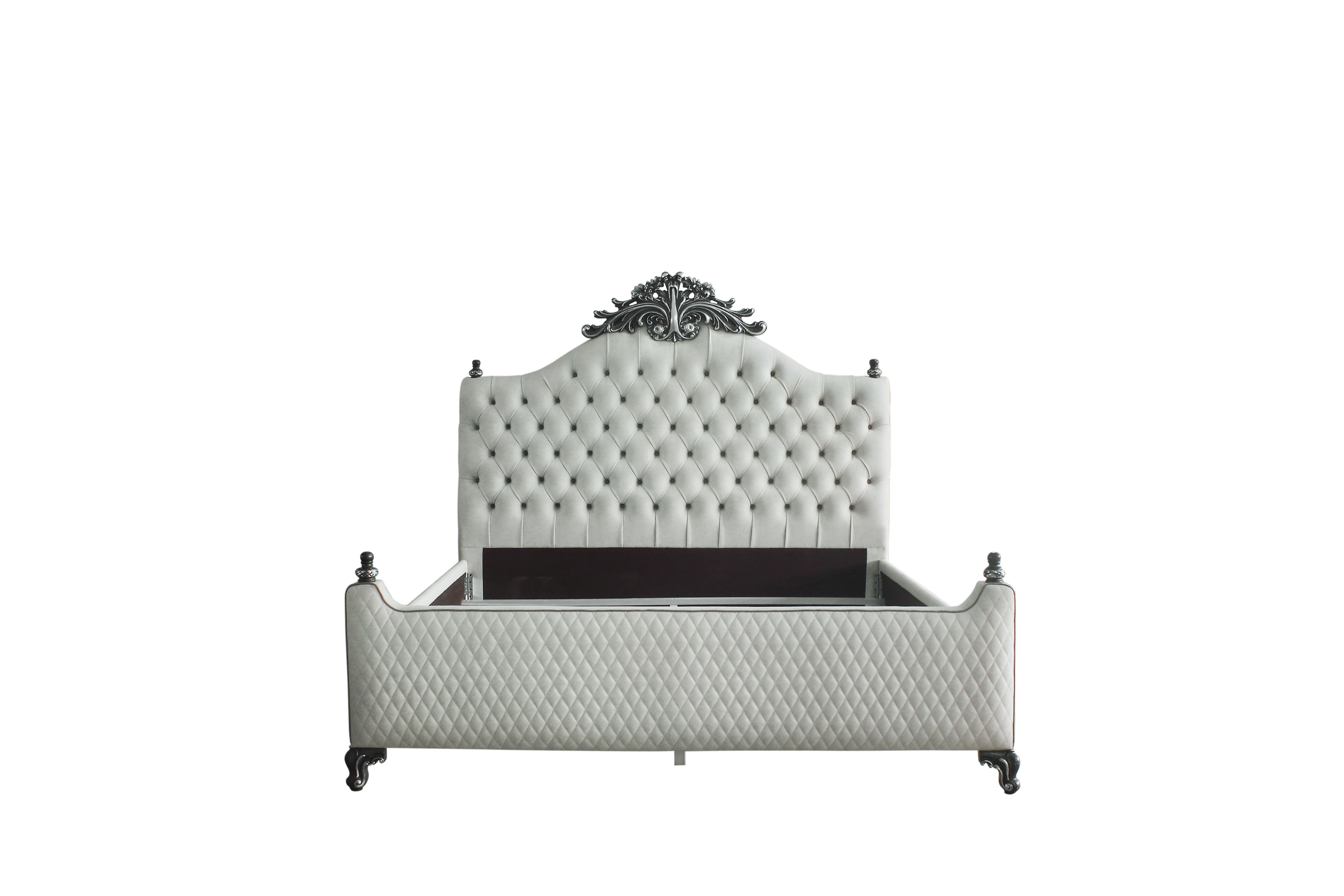 House Delphine California King Bed by Acme Furniture at Nassau Furniture and Mattress