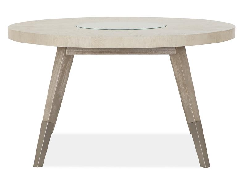 Lenox Round Dining Table by Magnussen Home at Dream Home Interiors